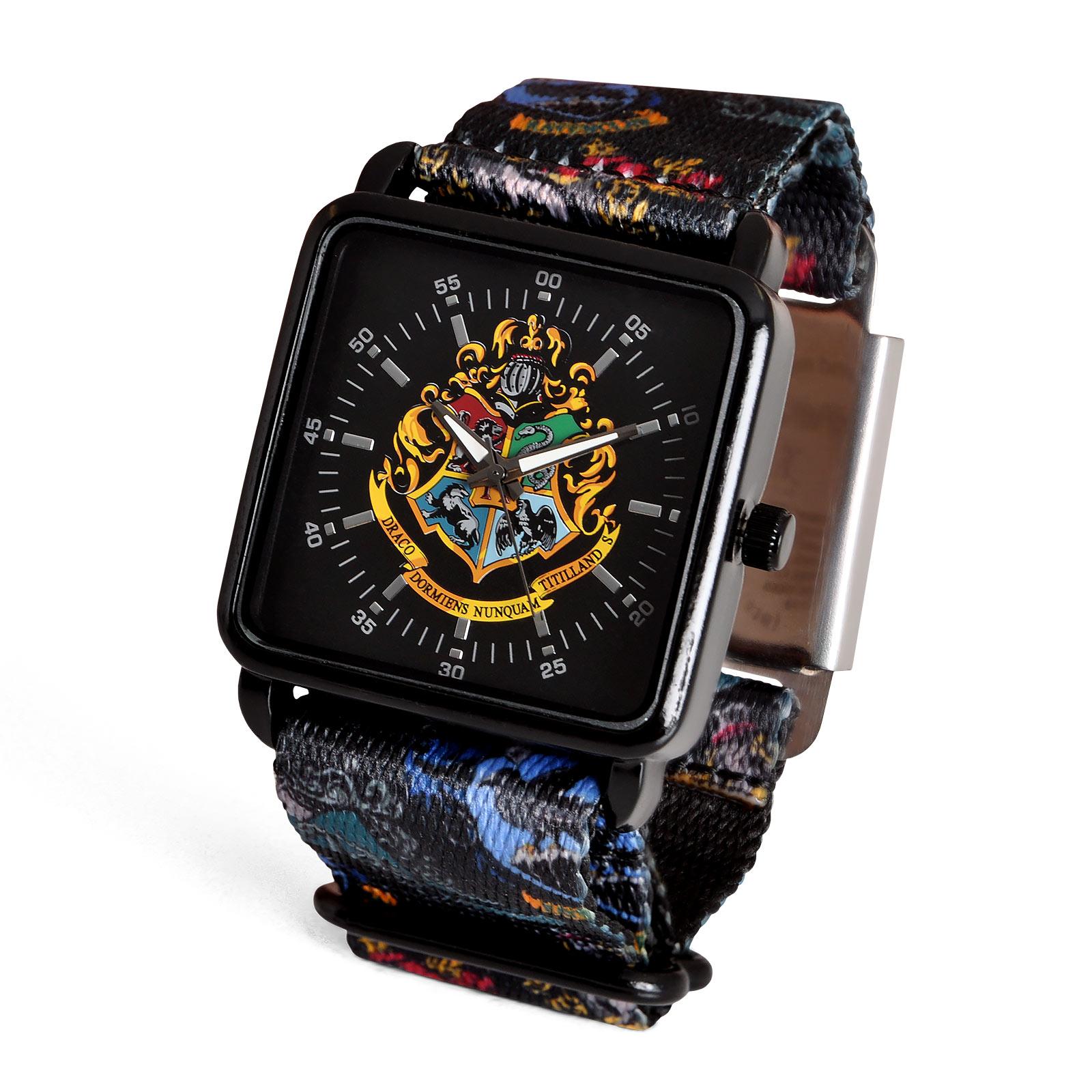 Harry Potter - Hogwarts Armbanduhr