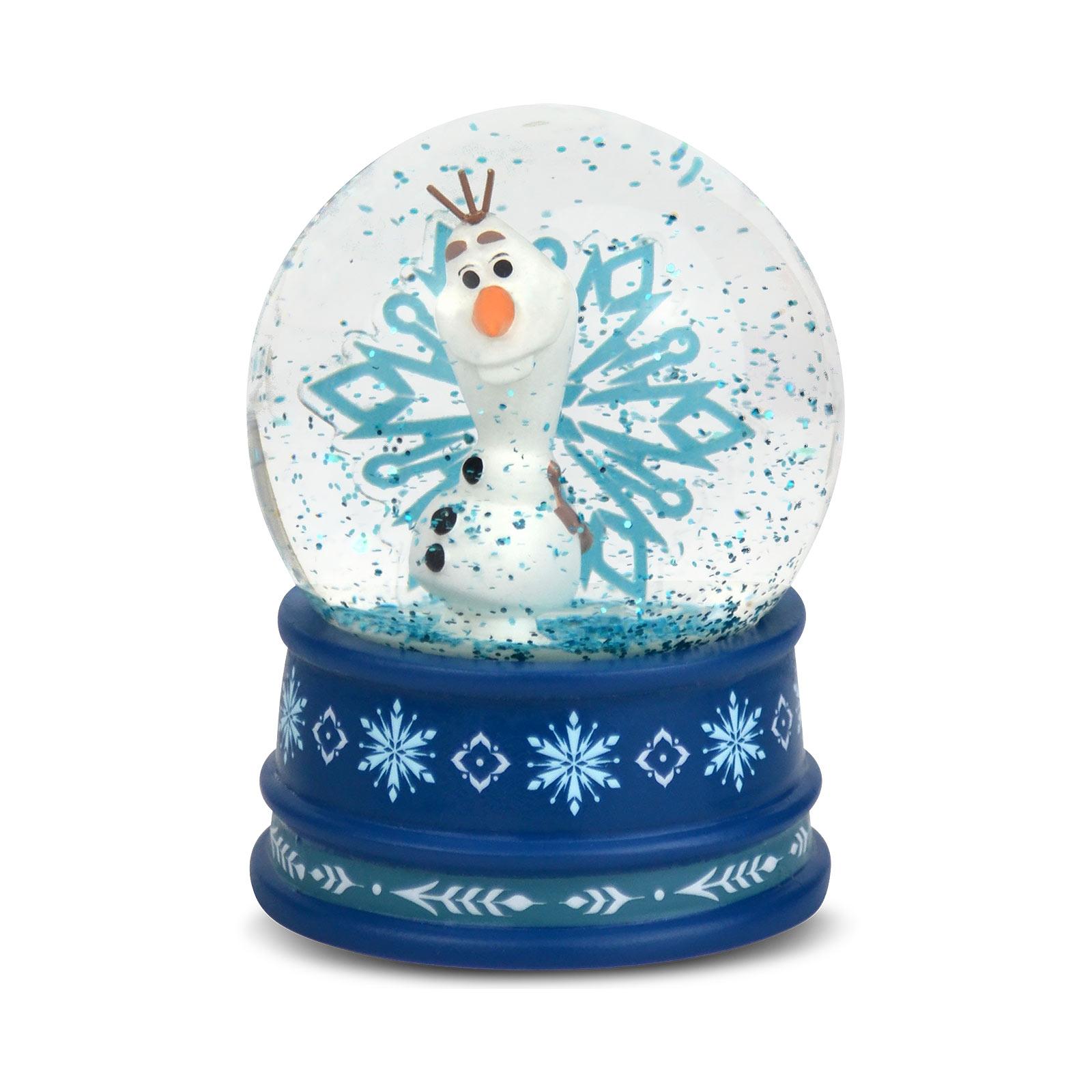 Frozen - Olaf Schneekugel mit Glitter