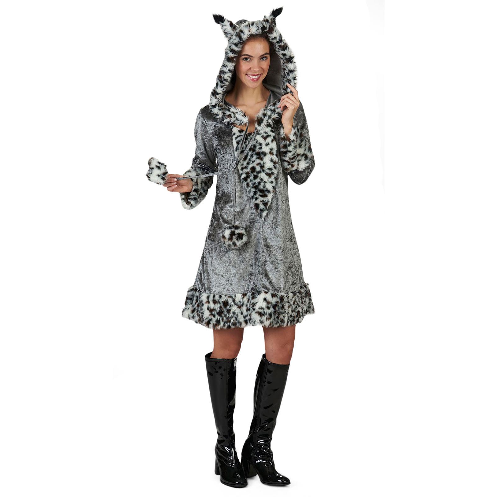 Luchs - Plüsch Kostüm Damen