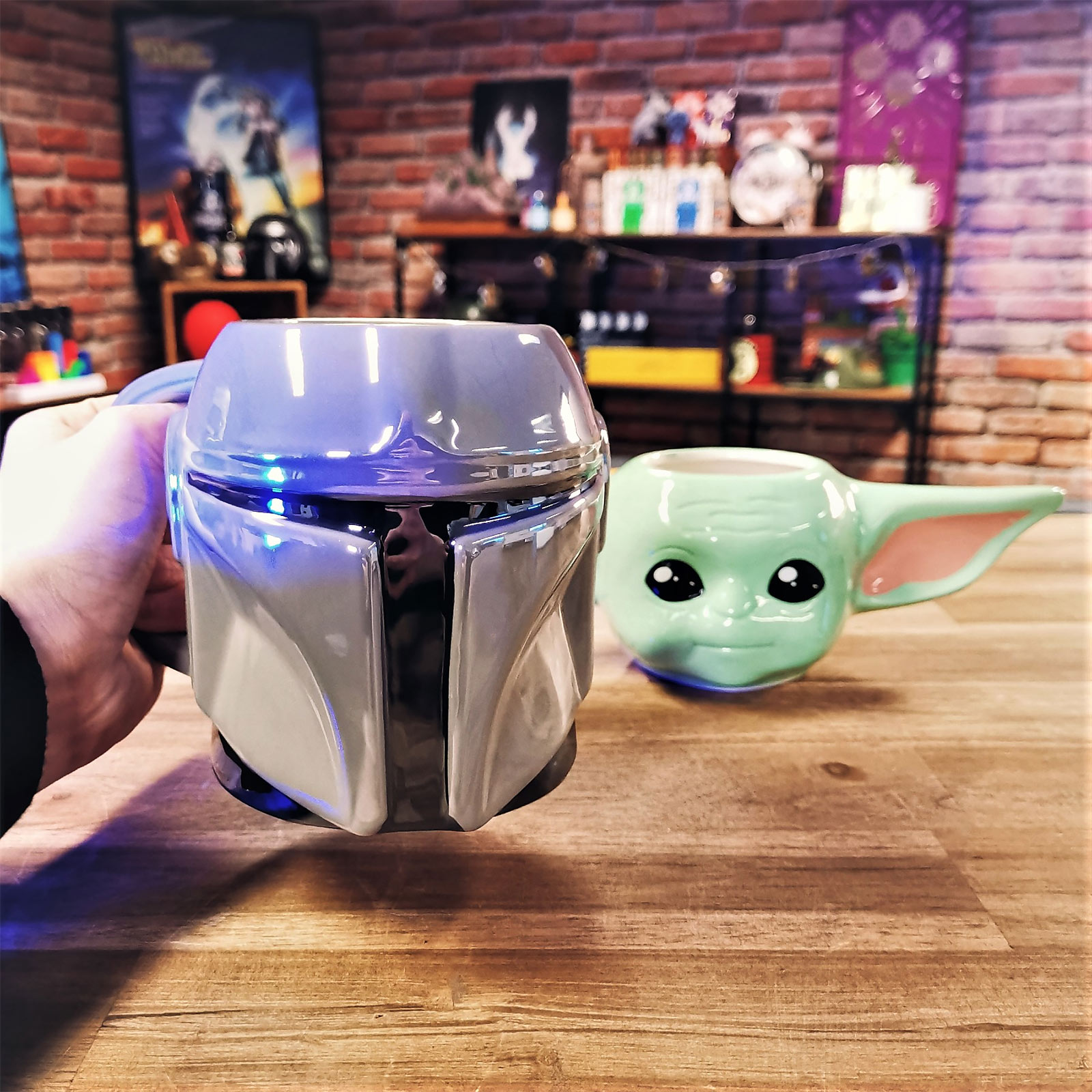 The Mandalorian Helm 3D Tasse - Star Wars