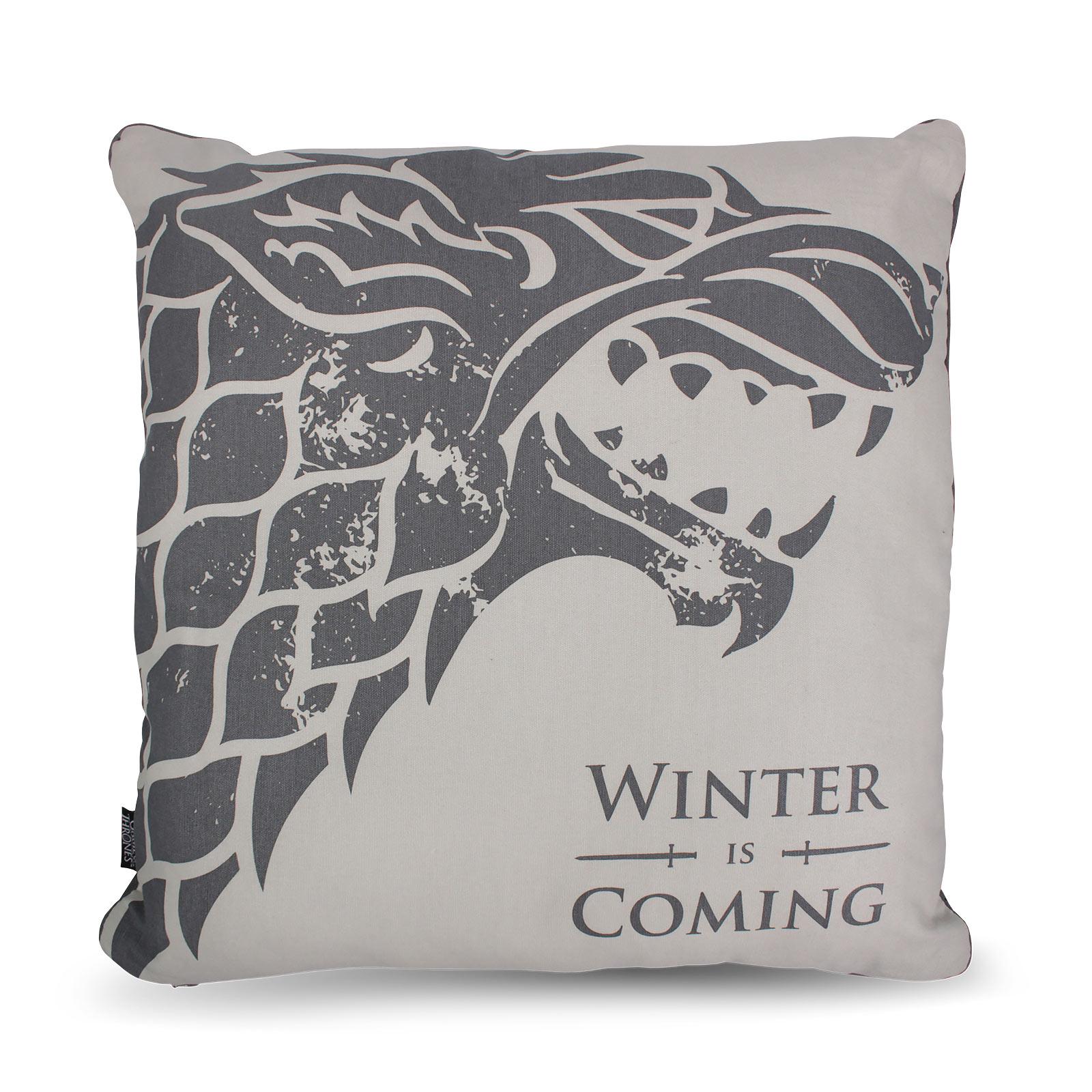 Game of Thrones - Stark Winter is Coming Kissen