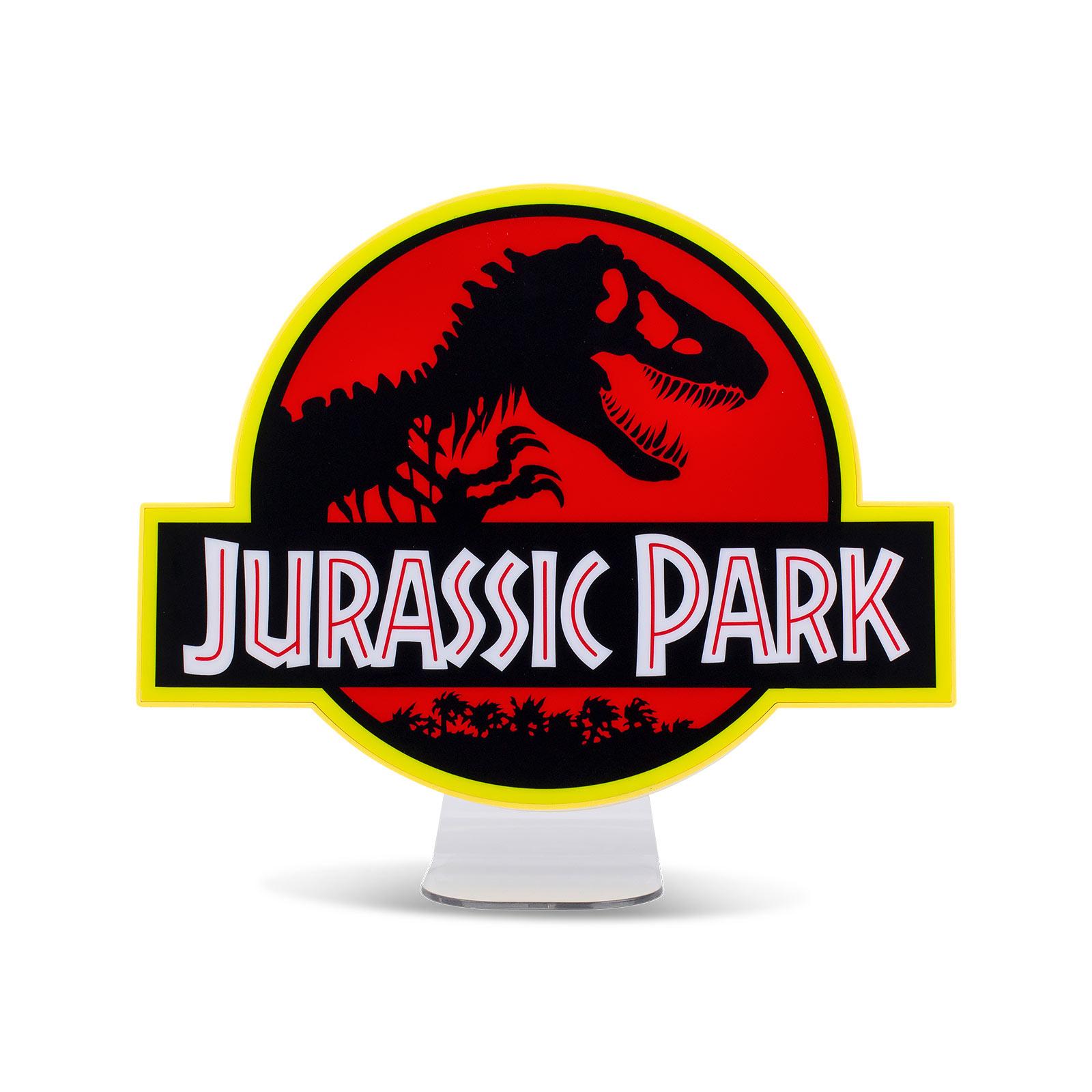 Jurassic Park - Logo Lampe