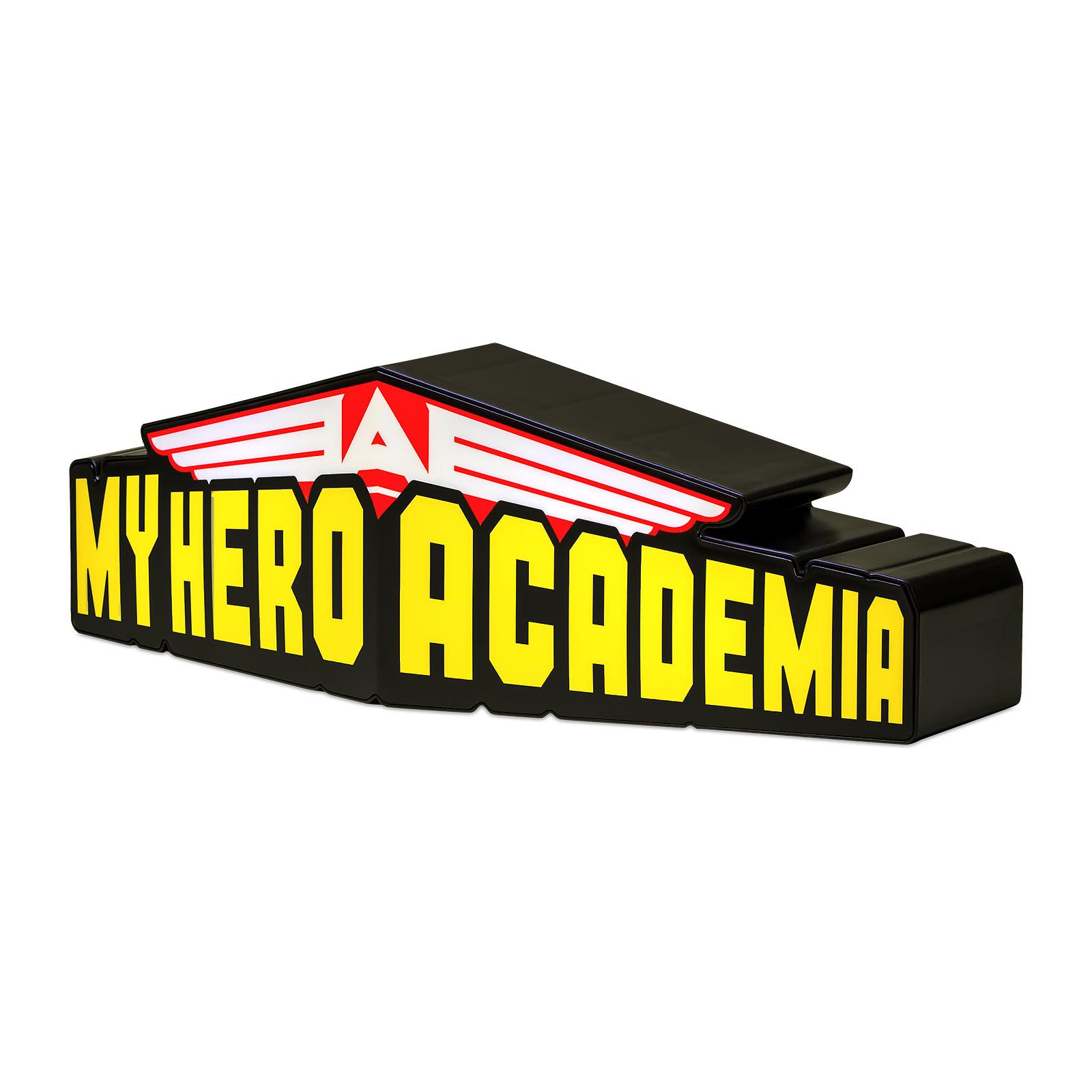 My Hero Academia - Logo Tischlampe