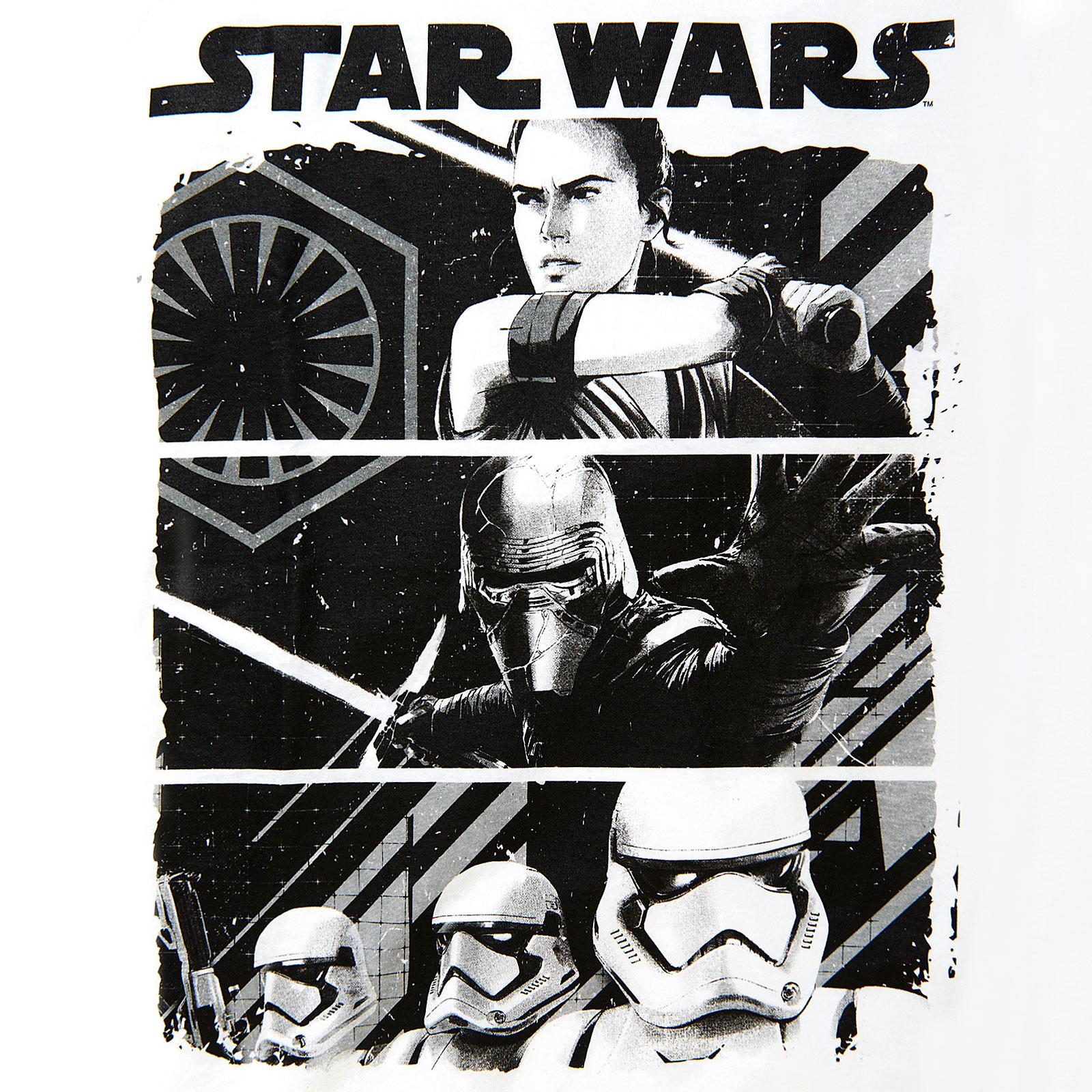 Star Wars - Fighting Forces T-Shirt weiß