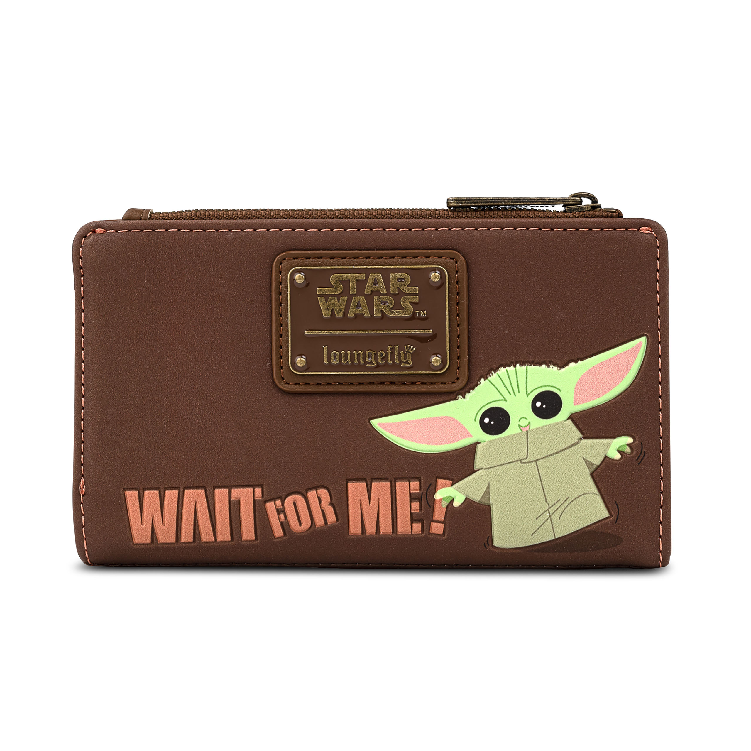 Grogu Wait For Me Geldbörse - Star Wars The Mandalorian