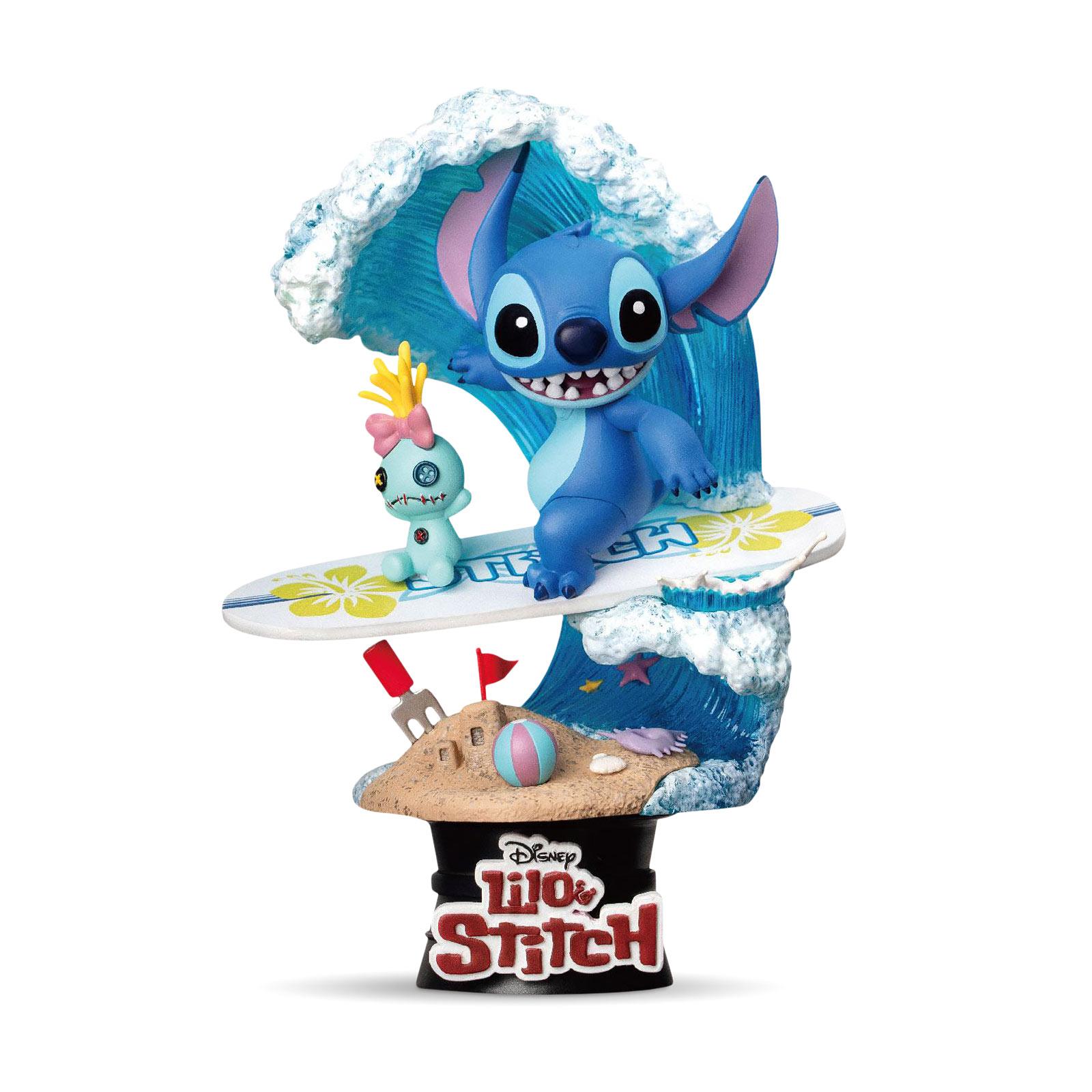 Lilo & Stitch - Surfer Stitch Diorama 15 cm