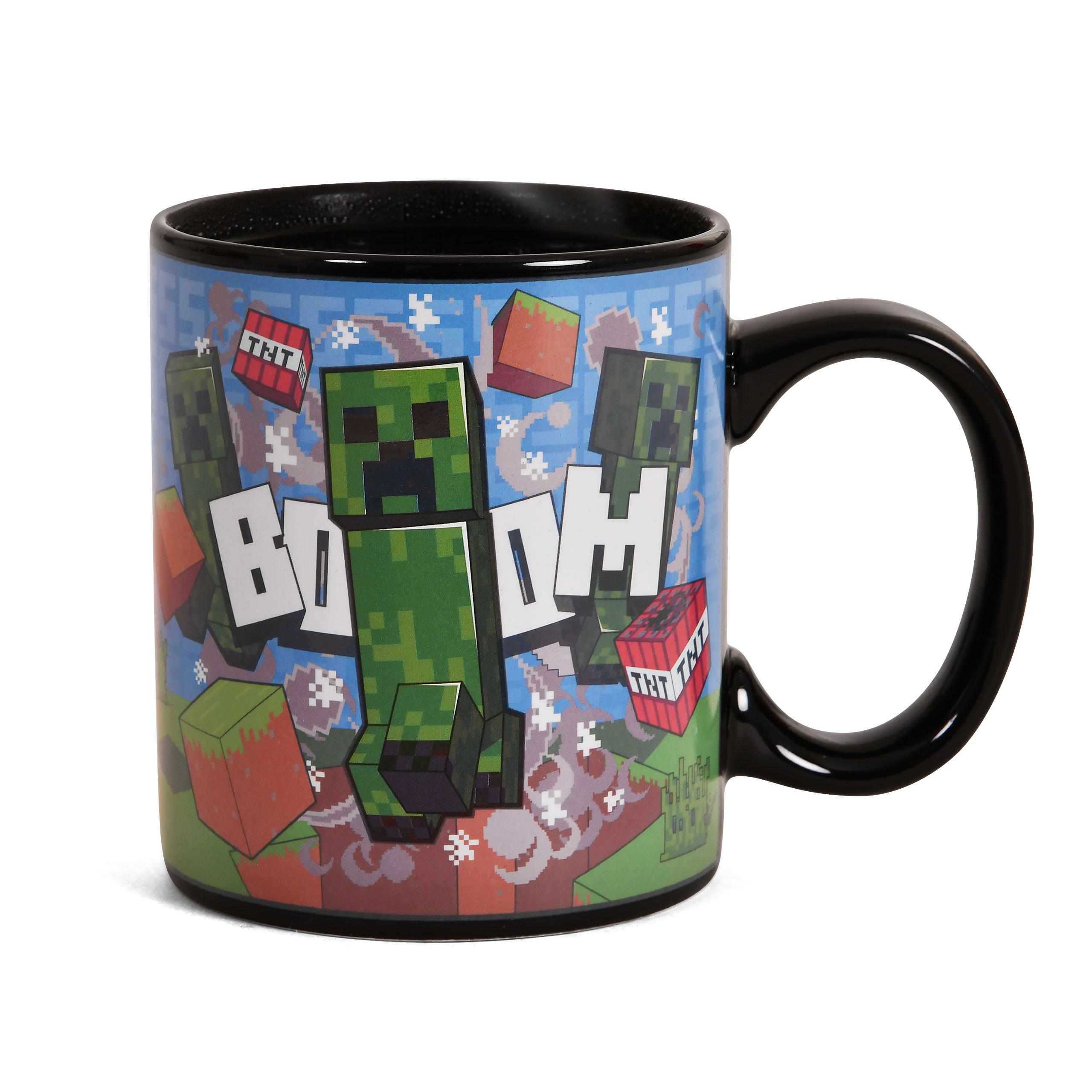 Minecraft - Creeper Thermoeffekt Tasse
