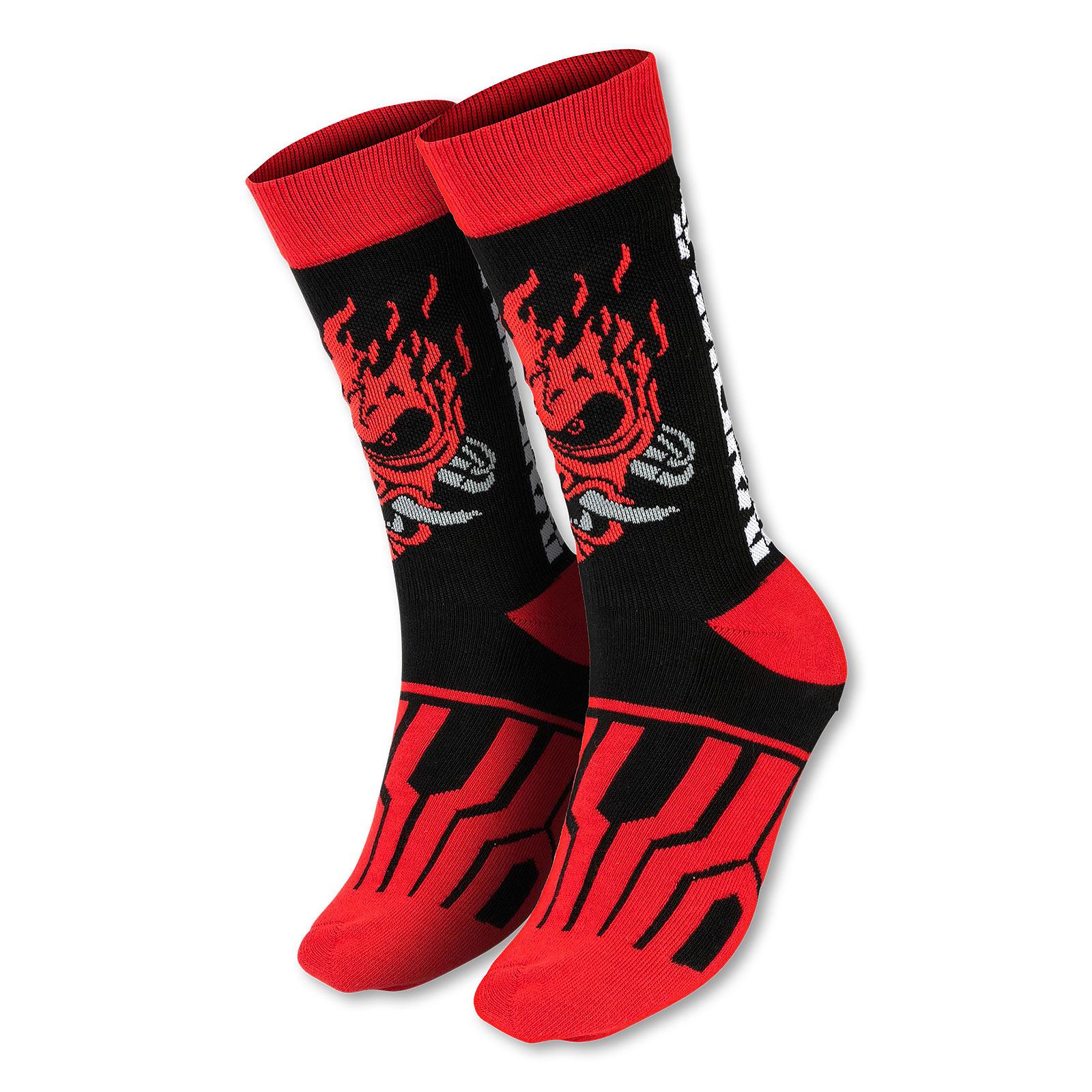 Cyberpunk 2077 - Samurai Logo Socken