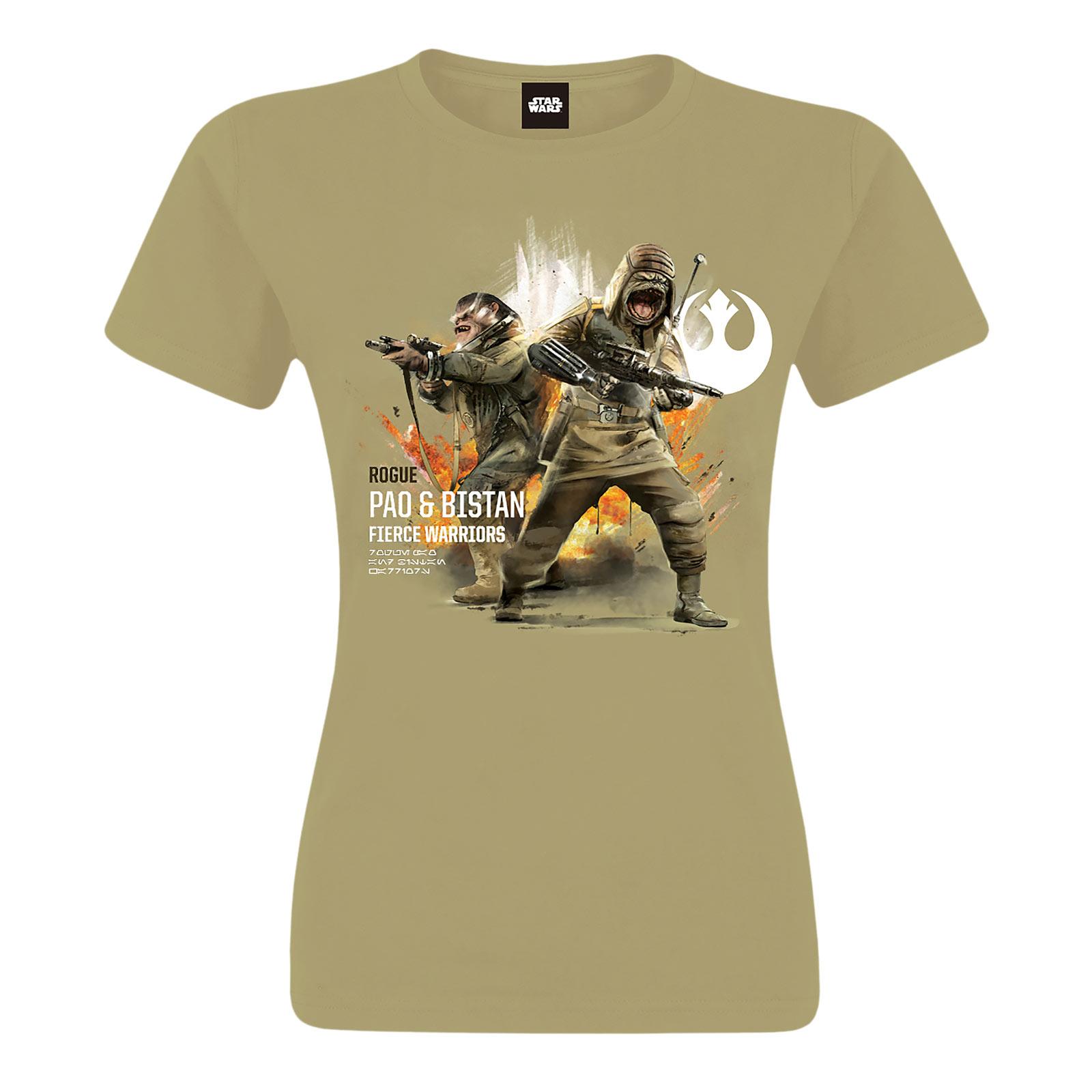 Star Wars - Pao & Bistan T-Shirt beige