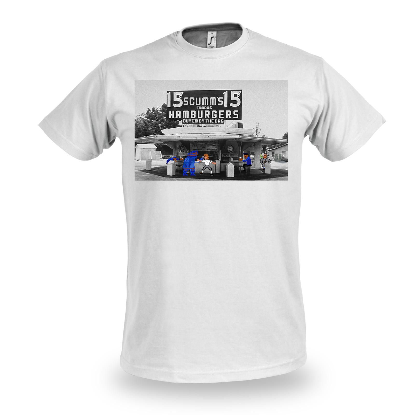 Guybrush at Scumm's T-Shirt