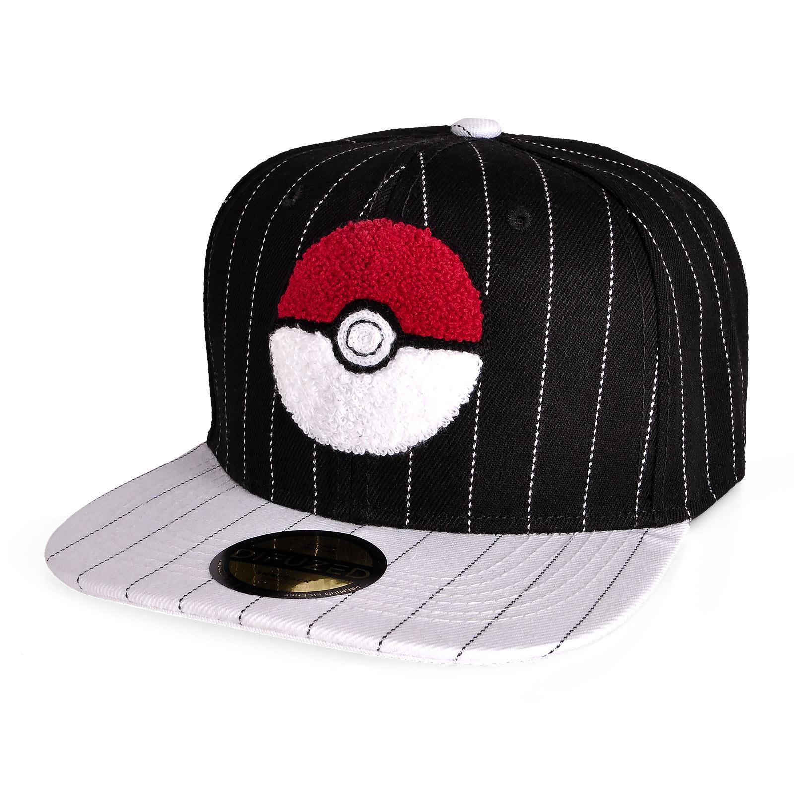 Pokemon - Pokeball Snapback Cap