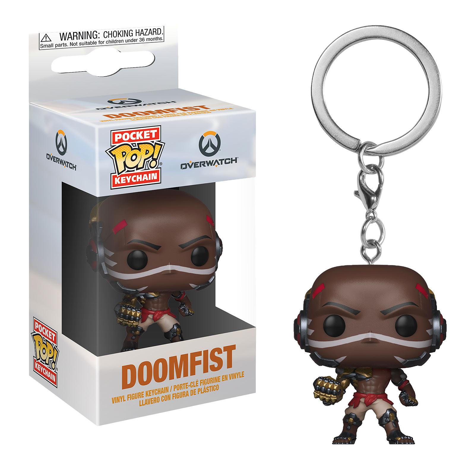 Overwatch - Doomfist Funko Pop Schlüsselanhänger