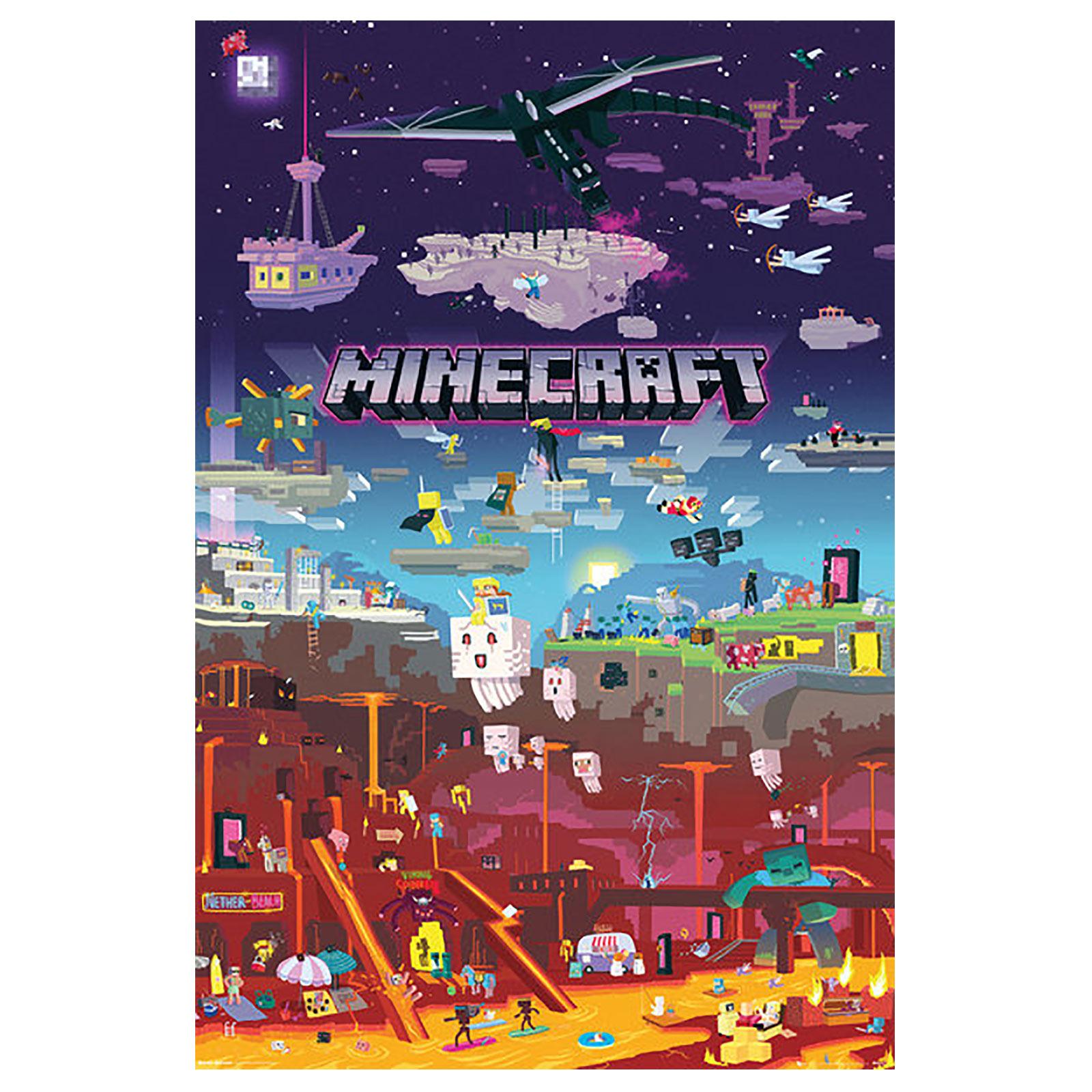 Minecraft - World Beyond Maxi Poster