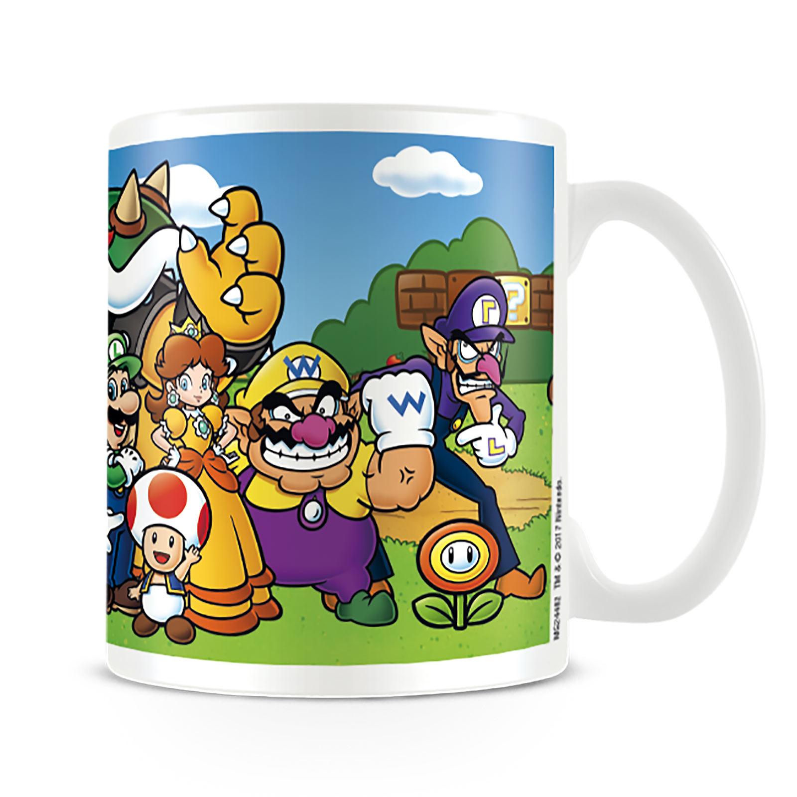Super Mario - Characters Tasse