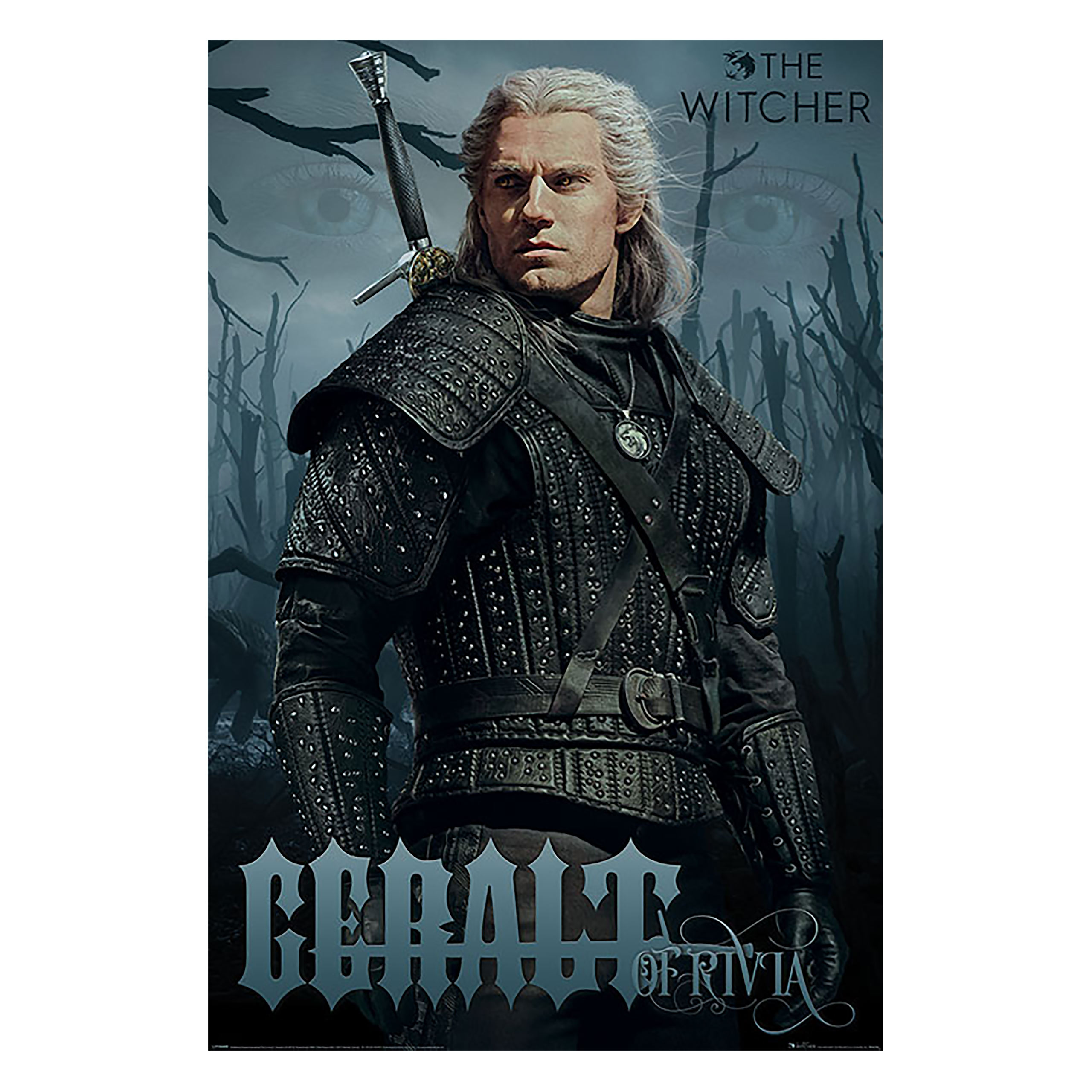 Witcher - Geralt Character Maxi Poster