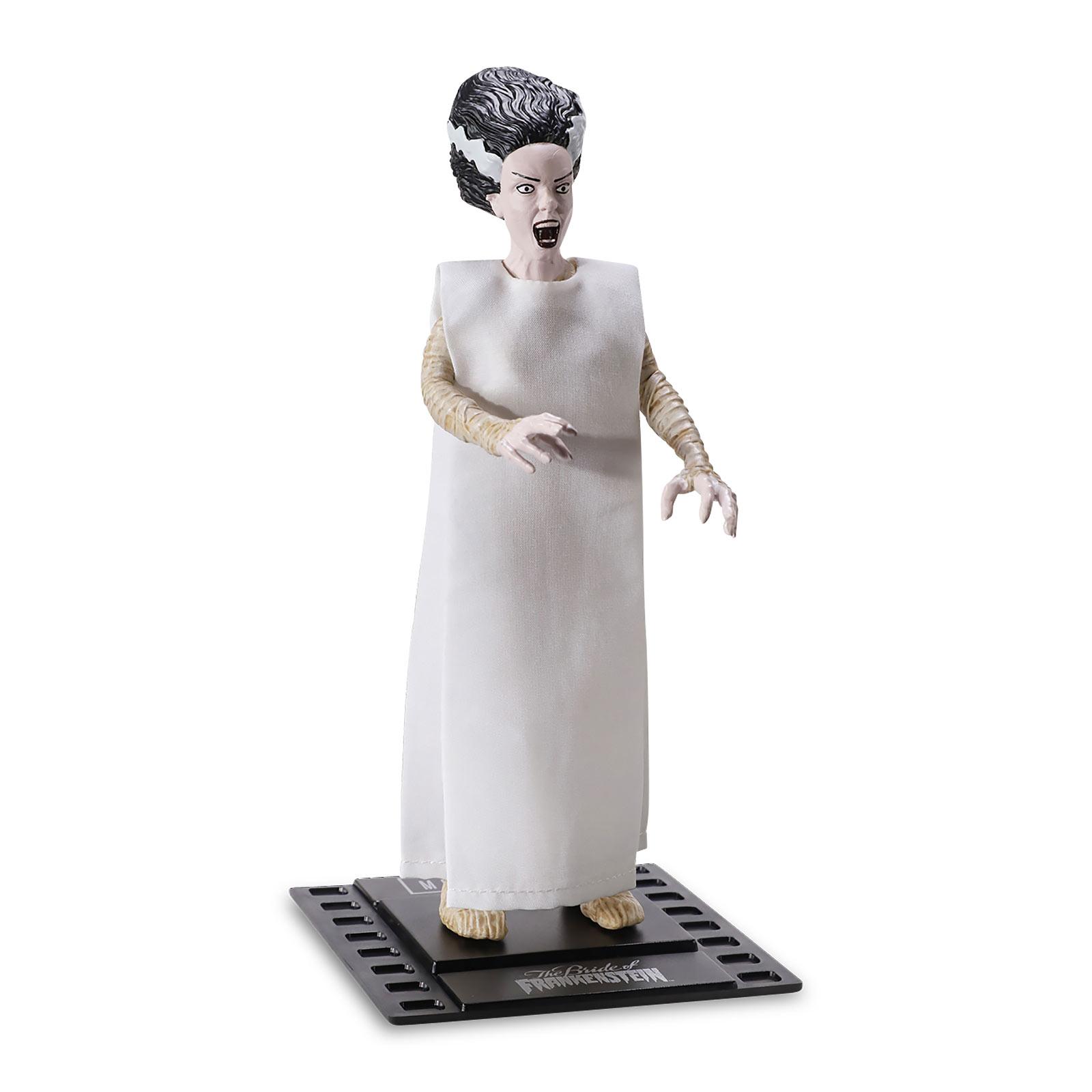Universal Monsters - Frankensteins Braut Bendyfigs Figur 19 cm