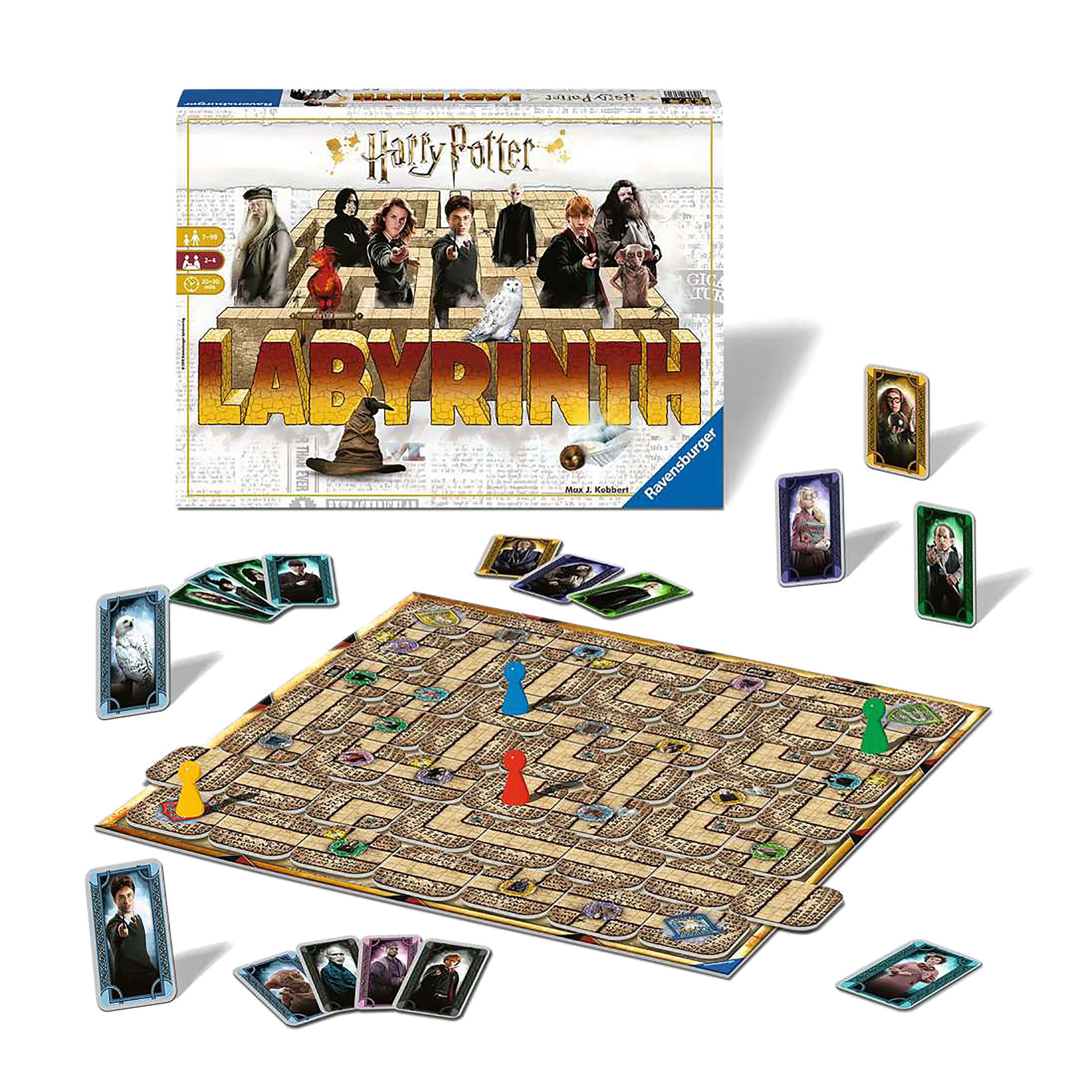 Harry Potter - Das verrückte Labyrinth Brettspiel