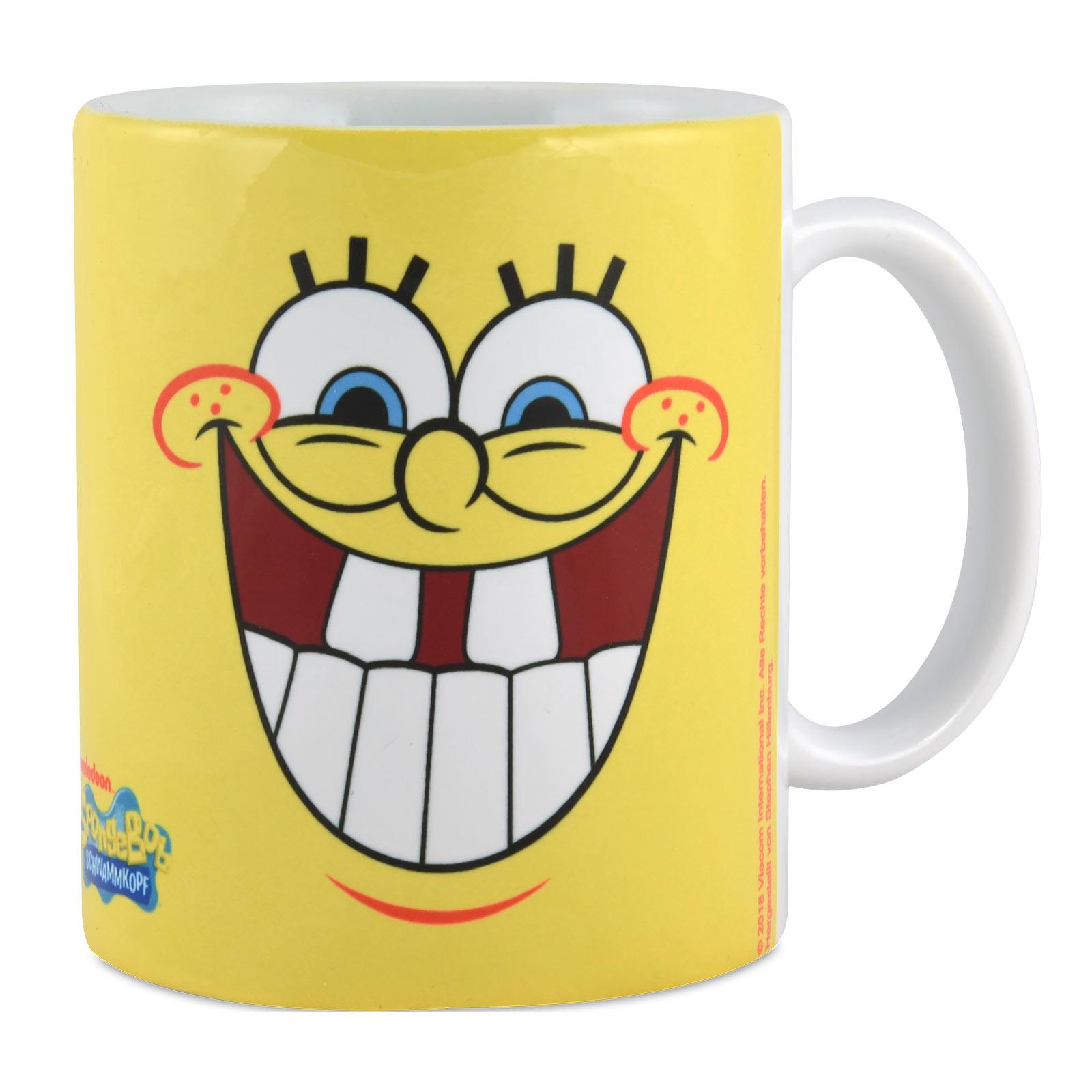 SpongeBob - Faces Tasse