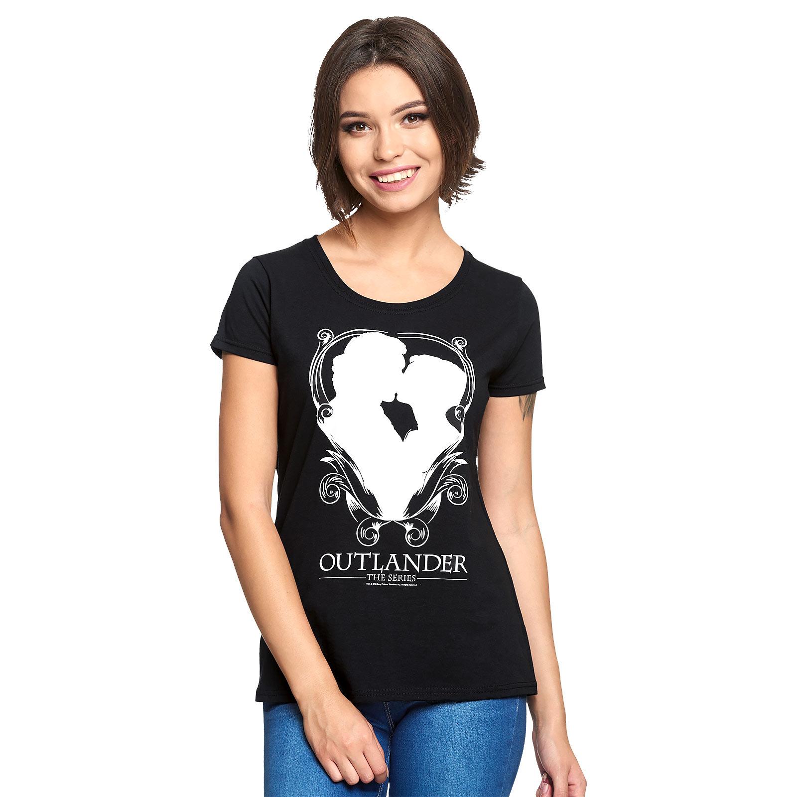Outlander - Kiss T-Shirt Damen schwarz