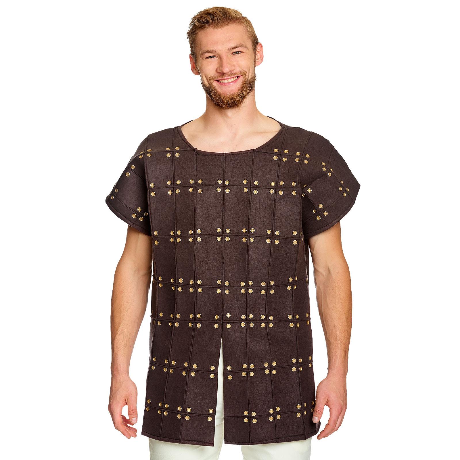 Mittelalter Kostüm Tunika Herren braun
