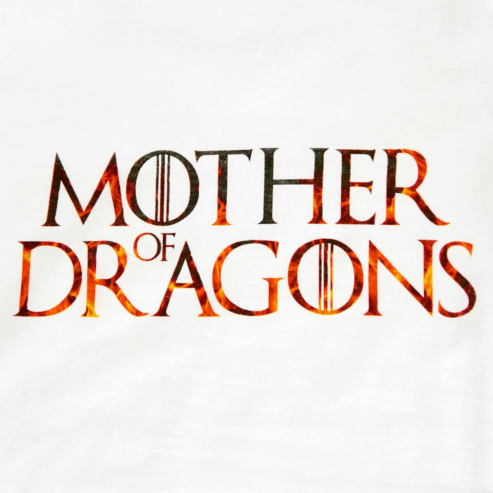 Mother Of Dragons - T-Shirt Damen weiß