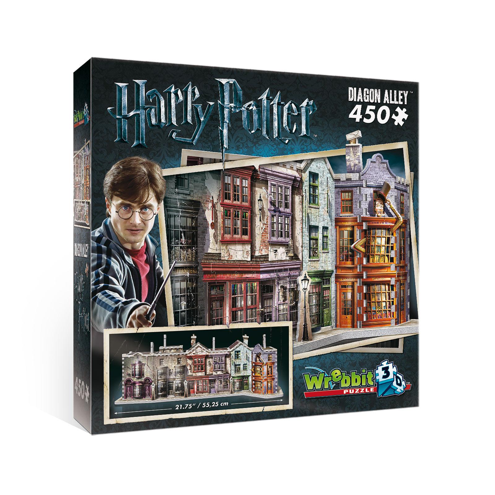 Harry Potter - Winkelgasse 3D Puzzle