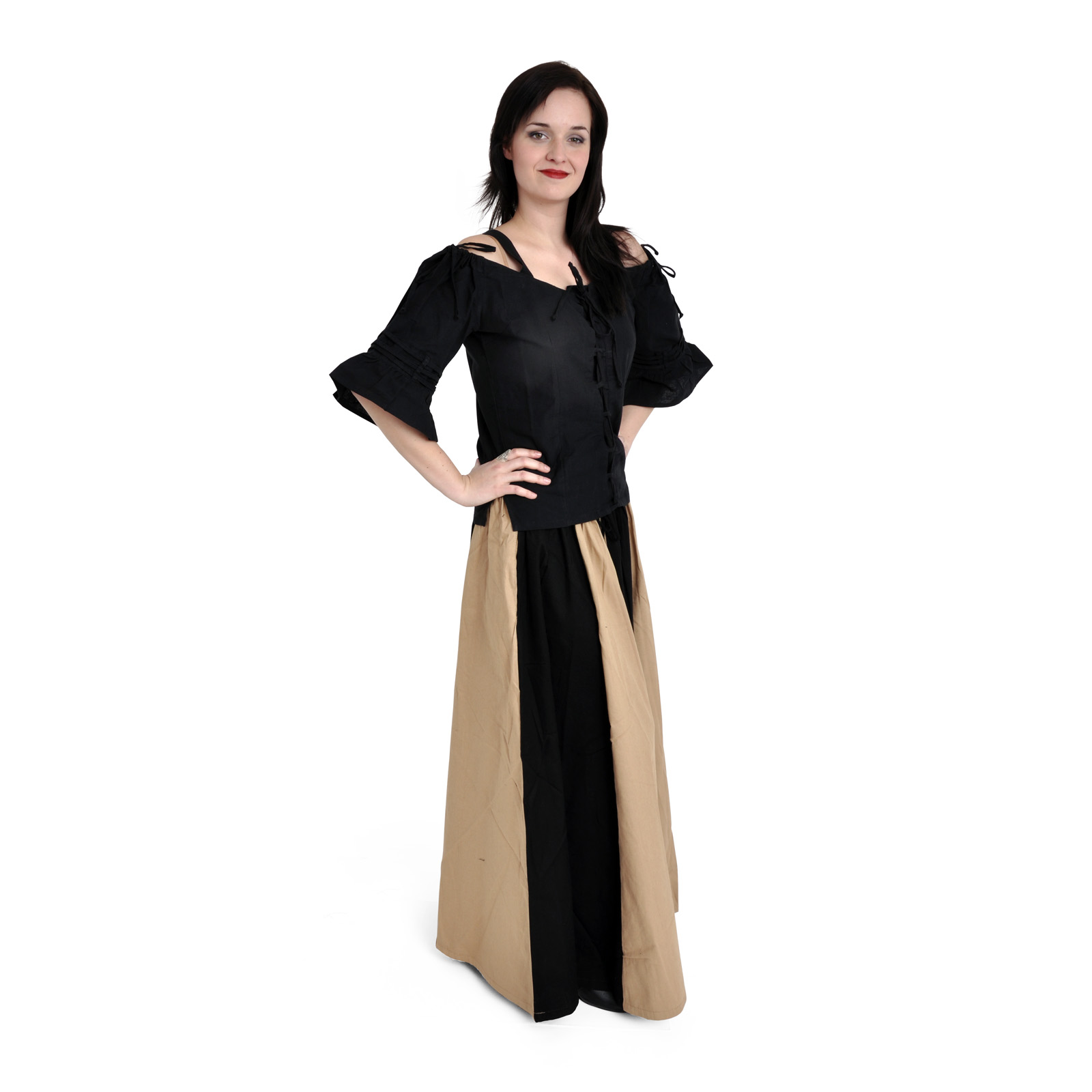 Linda - Bluse schwarz