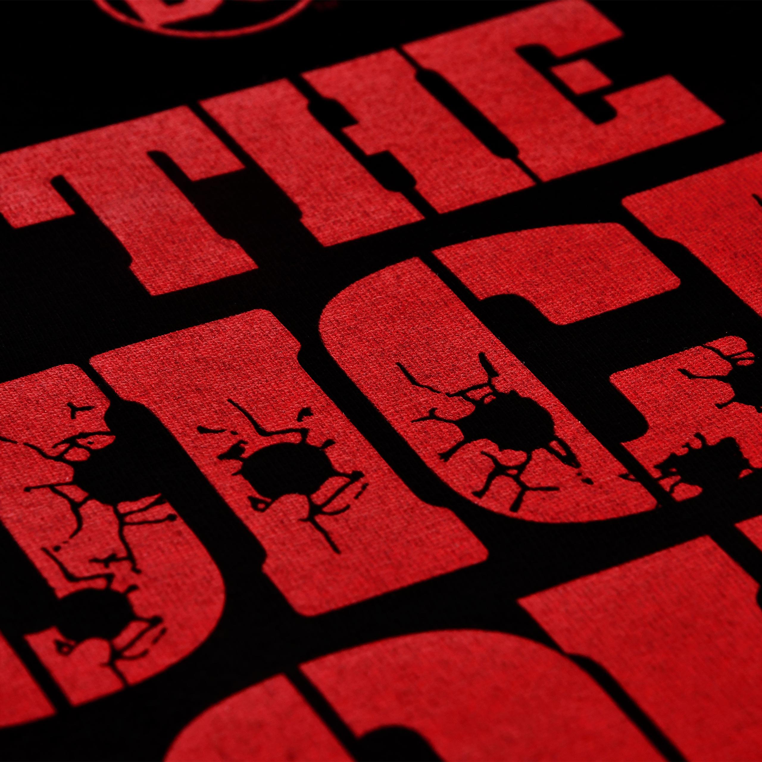 The Suicide Squad - Shot Logo T-Shirt schwarz
