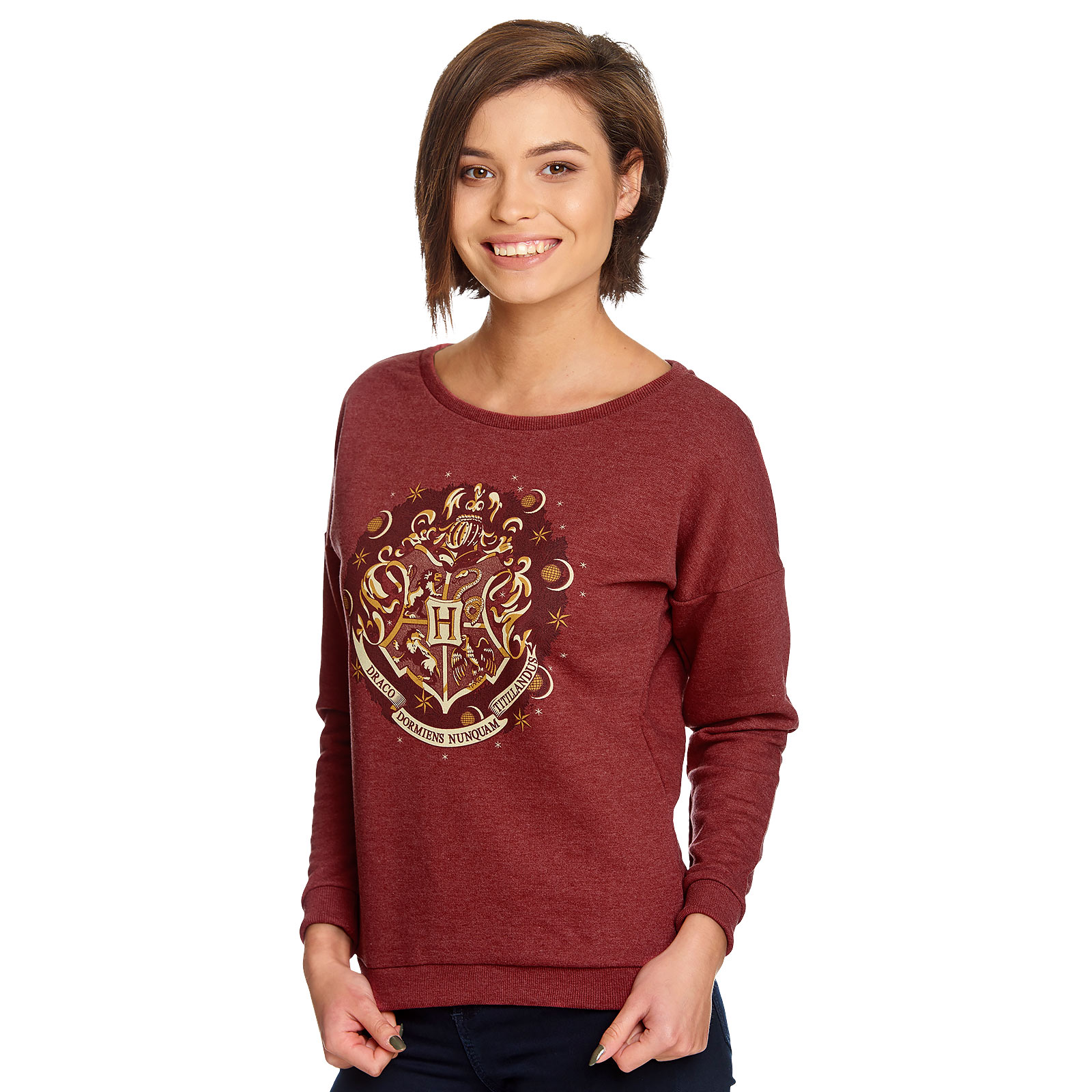 Harry Potter - Hogwarts Wappen Sweater Damen