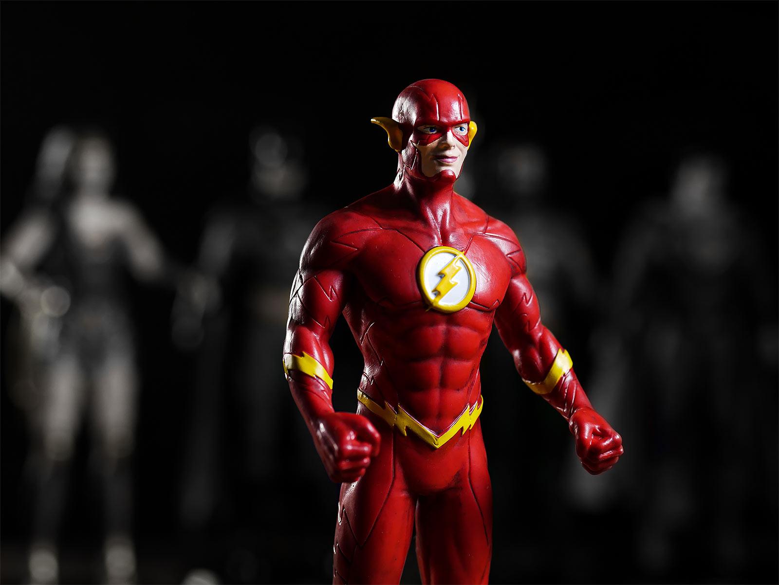 DC Comics - Flash Bendyfigs Figur 19 cm