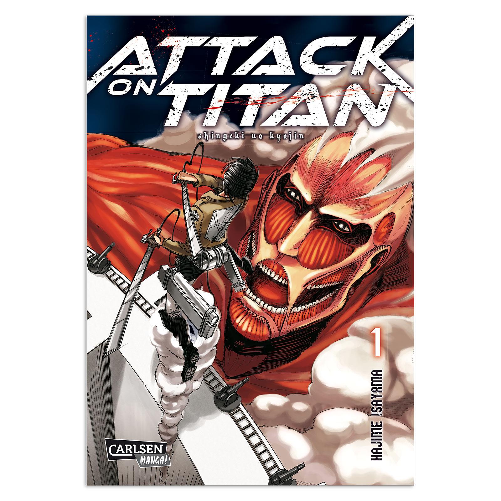 Attack on Titan - Band 1 Taschenbuch
