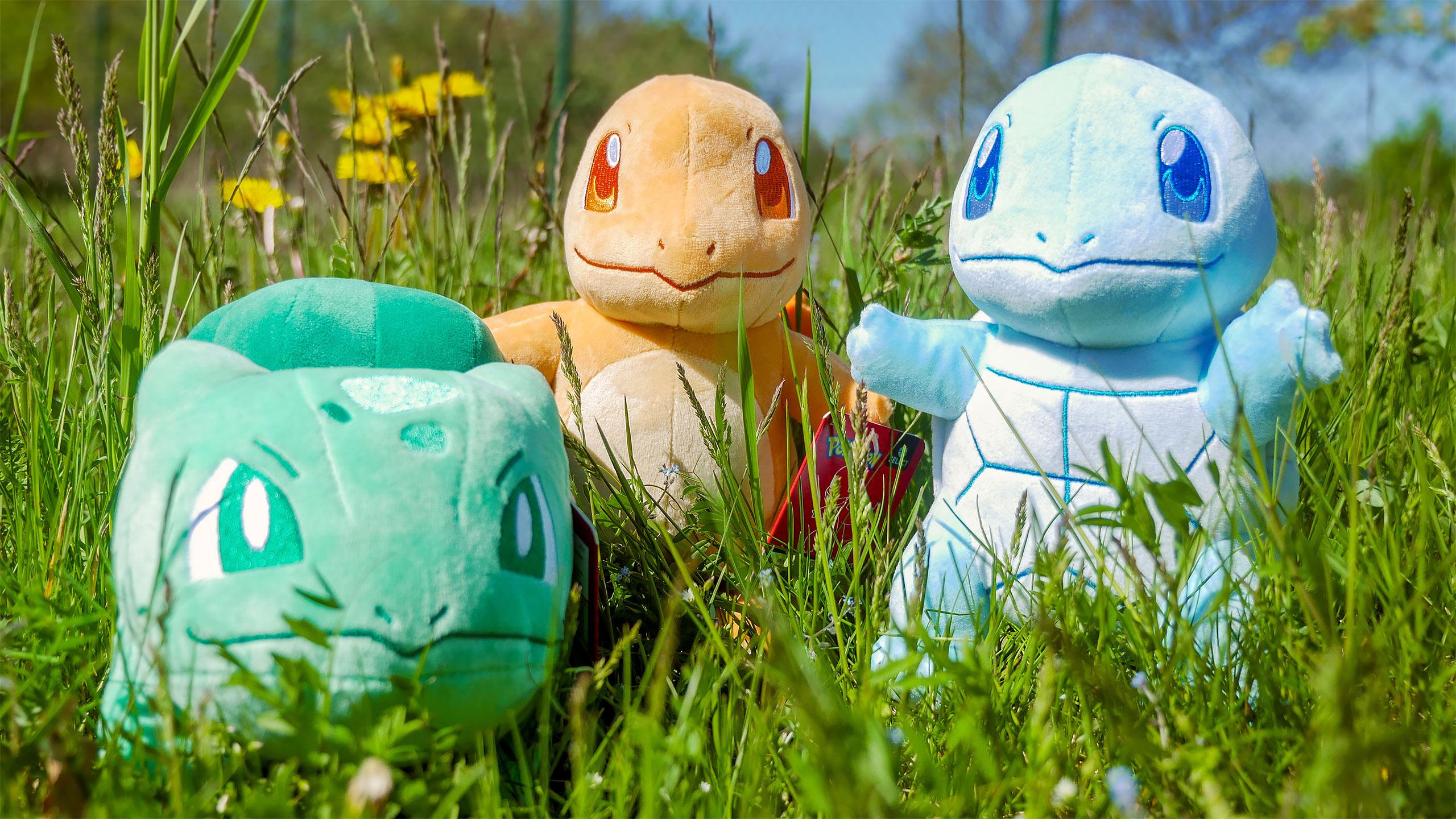 Pokemon - Glumanda Monochrom Plüsch Figur 22 cm