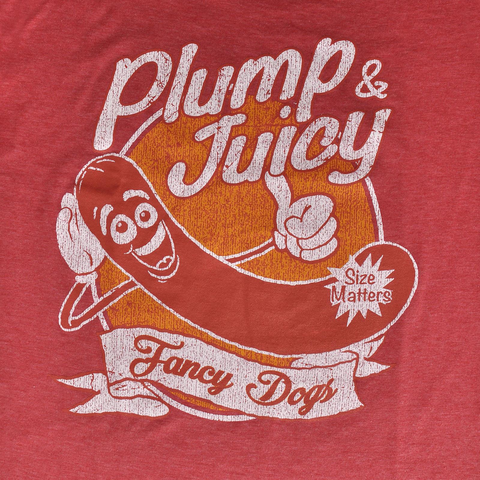 Sausage Party - Plump & Juicy T-Shirt rot