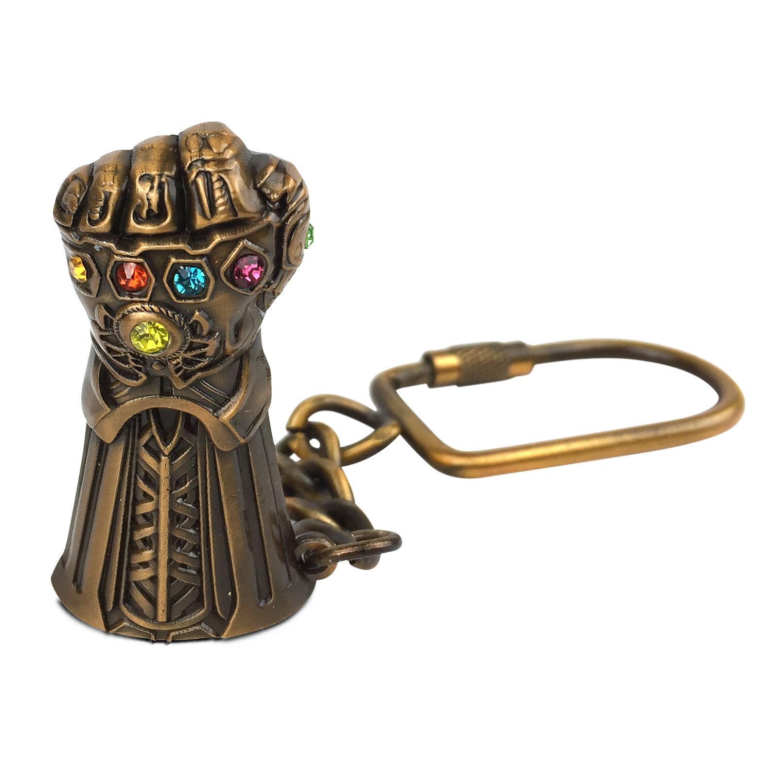 Avengers - Thanos Infinity Gauntlet Schlüsselanhänger
