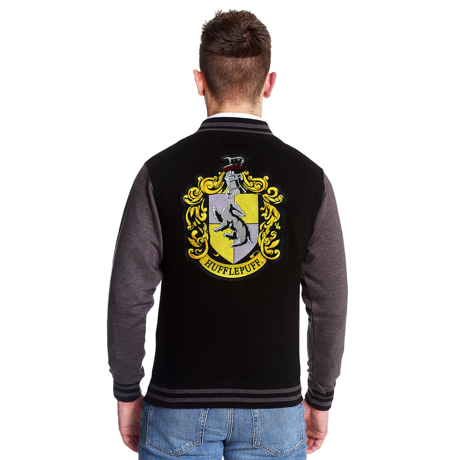 Harry Potter - Hufflepuff Wappen College Jacke