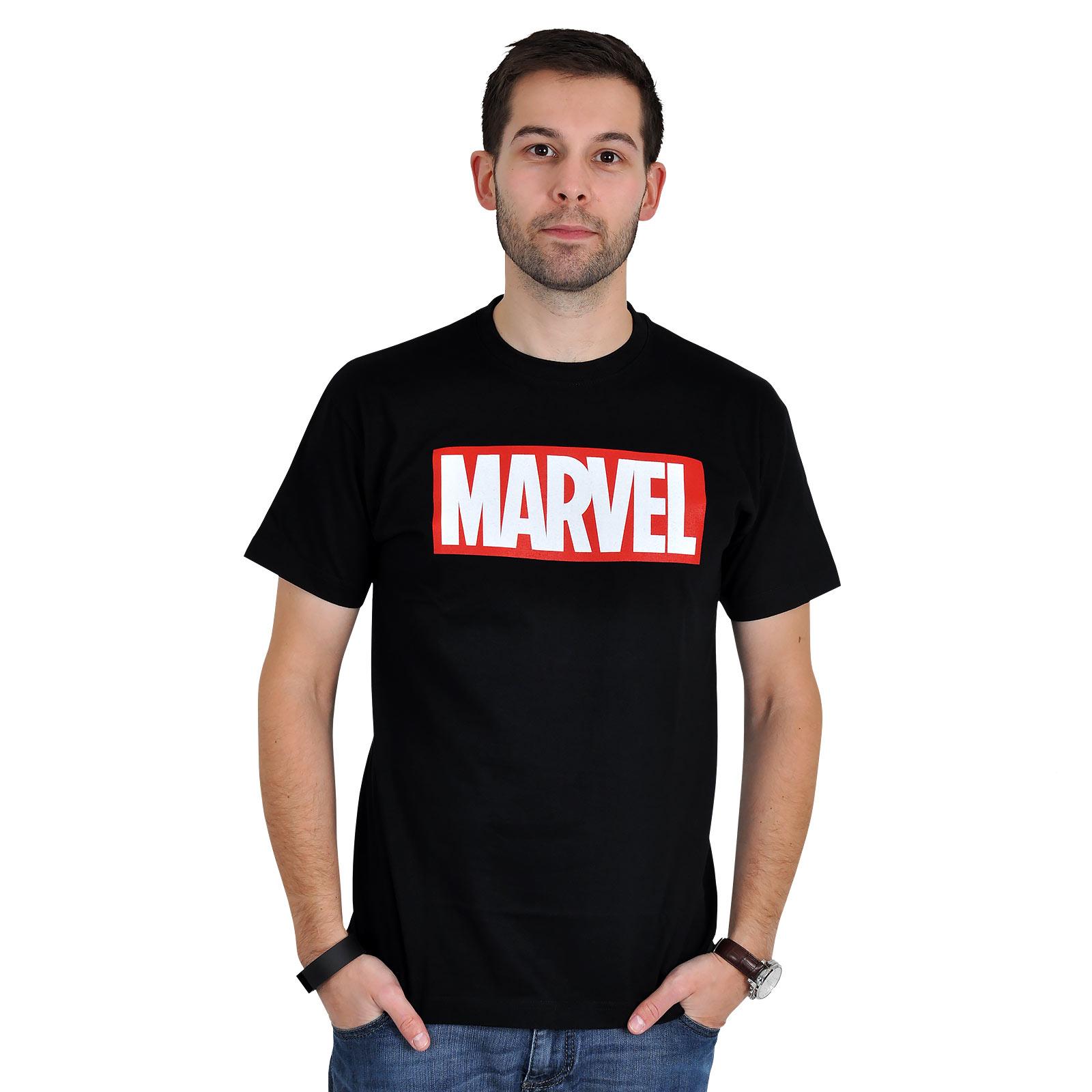 Marvel - Logo T-Shirt schwarz