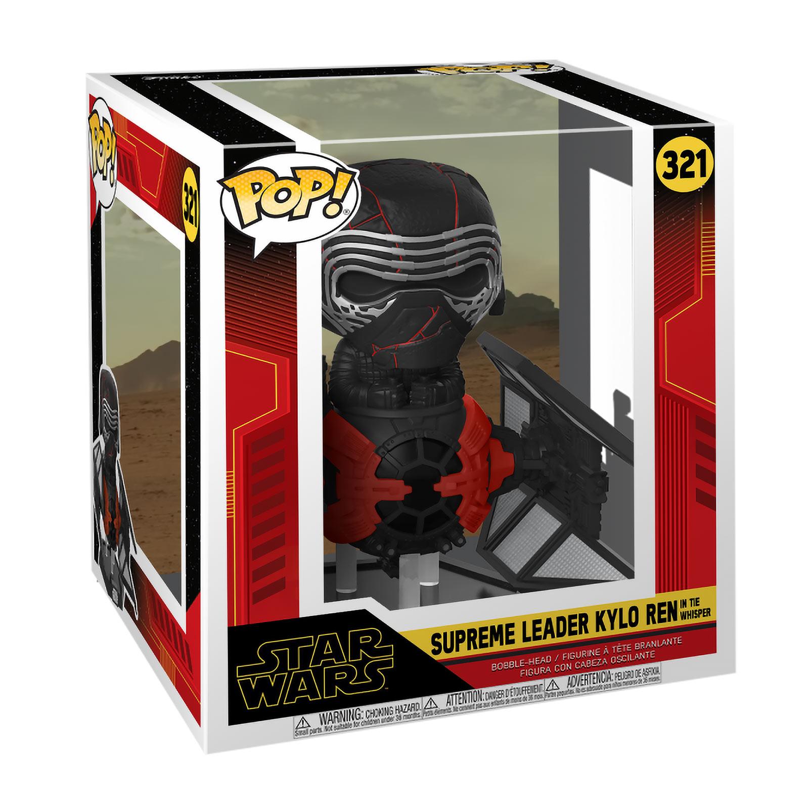 Star Wars - Kylo Ren in Tie Whisper Funko Pop Wackelkopf-Figur