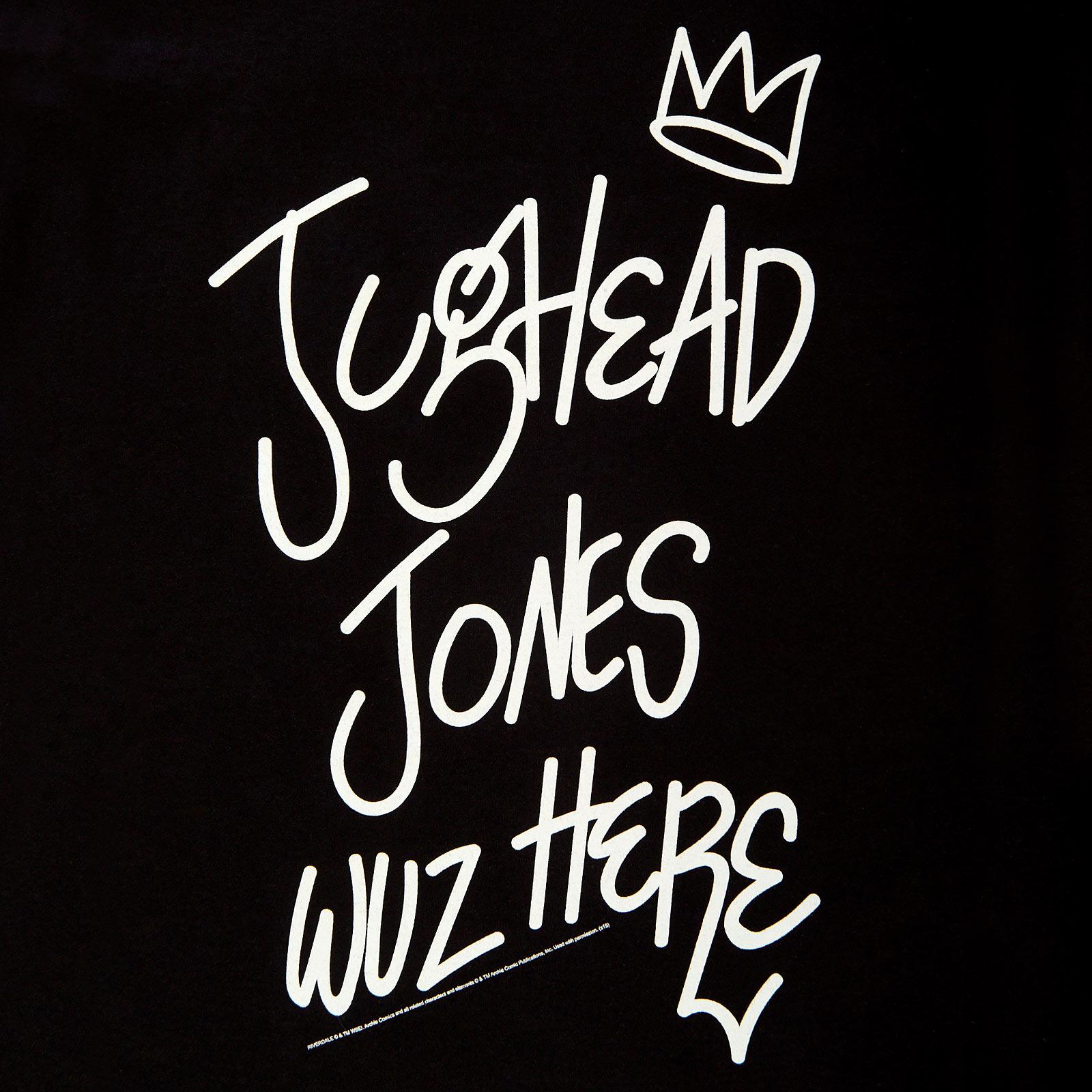 Riverdale - Jughead Jones Wuz Here T-Shirt schwarz