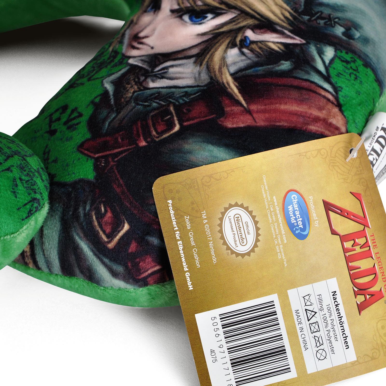Zelda - Link Nackenkissen grün