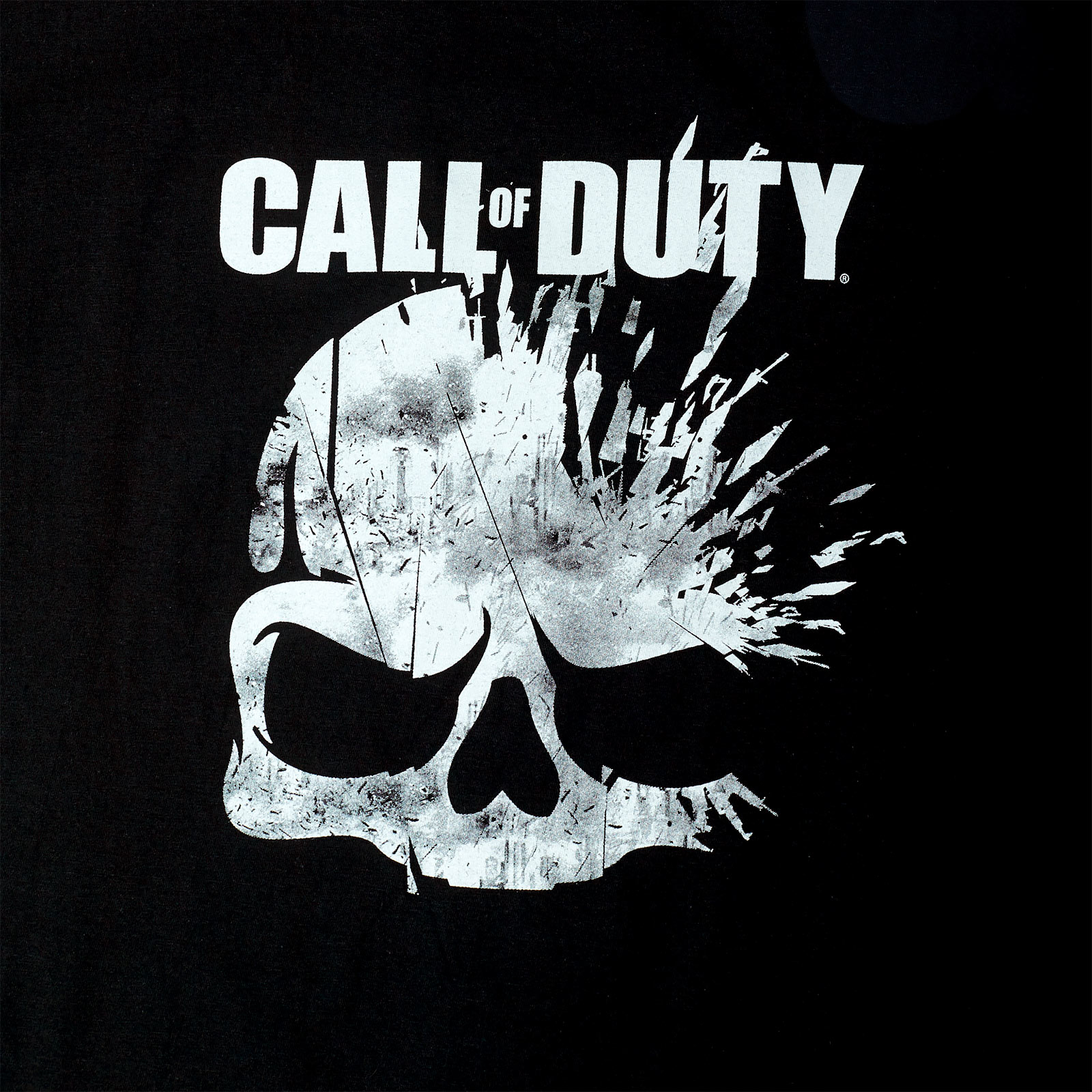 Call of Duty - Skull T-Shirt schwarz