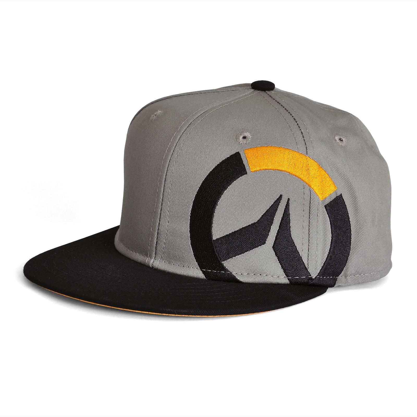 Overwatch - Logo Snapback Cap grau