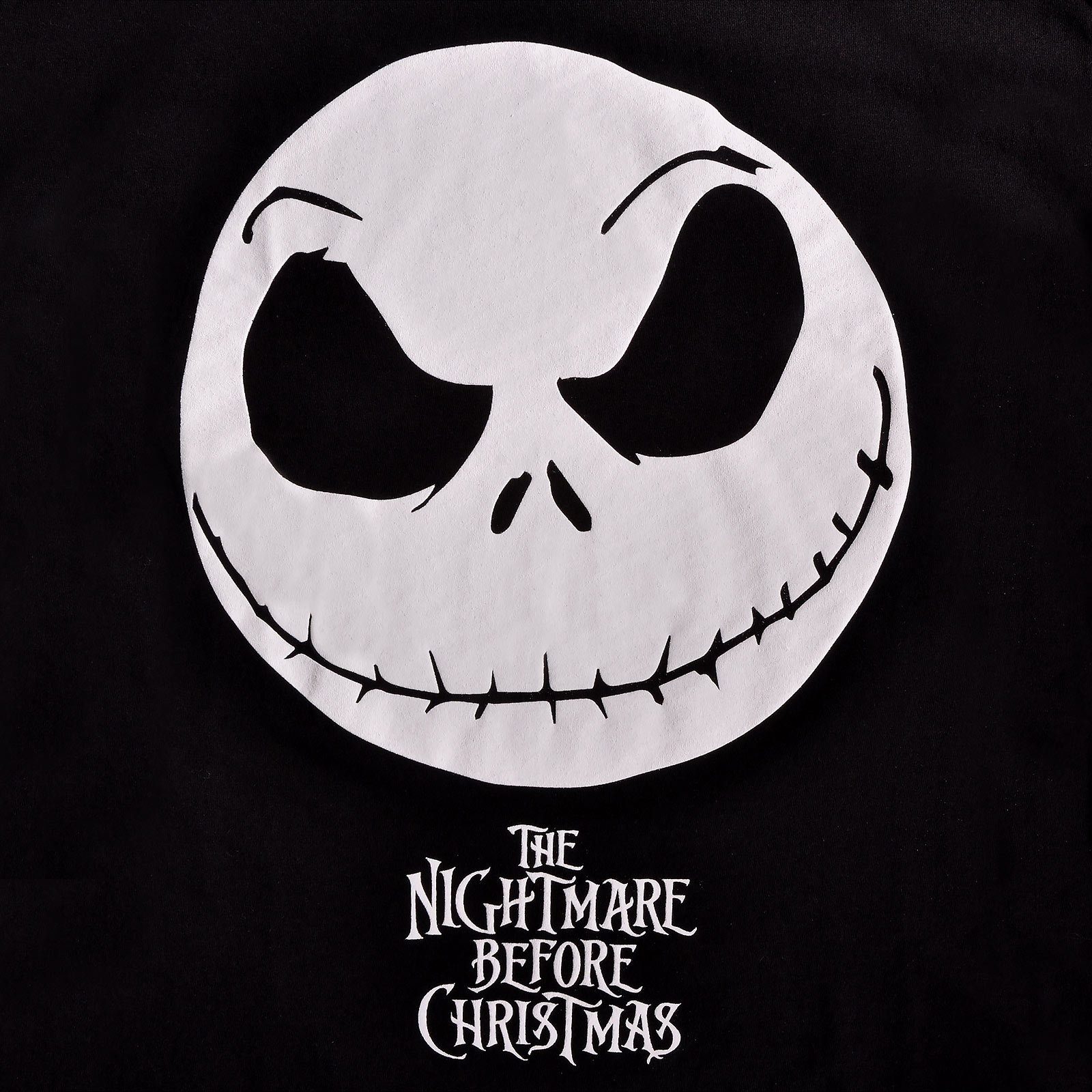 Nightmare Before Christmas - Jack Smile T-Shirt Damen schwarz