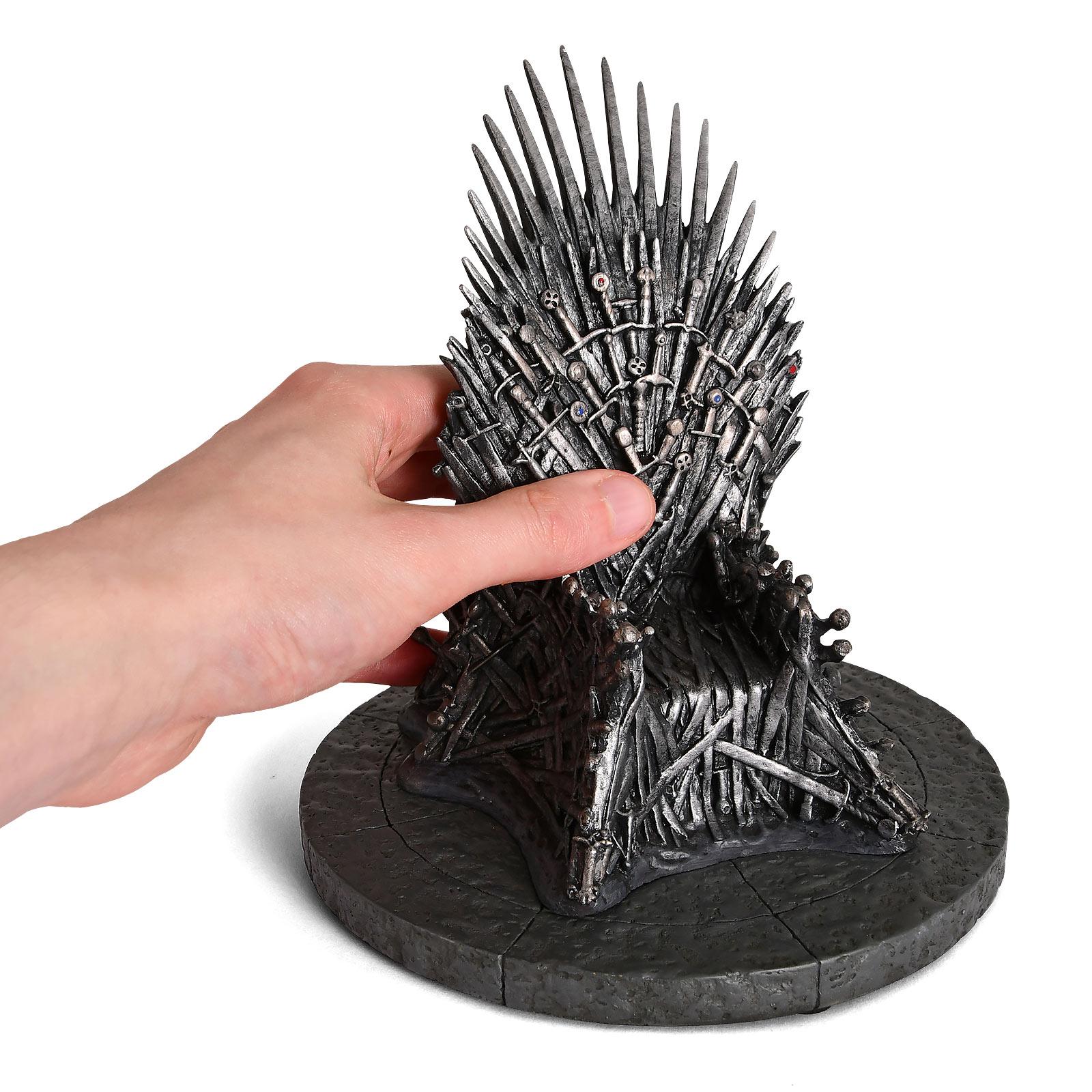 Game of Thrones - Eiserner Thron Replik 17 cm