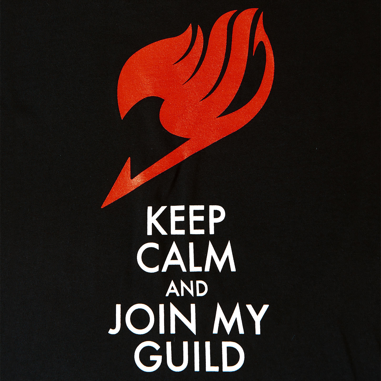 Fairy Tail - Keep Calm and Join My Guild T-Shirt