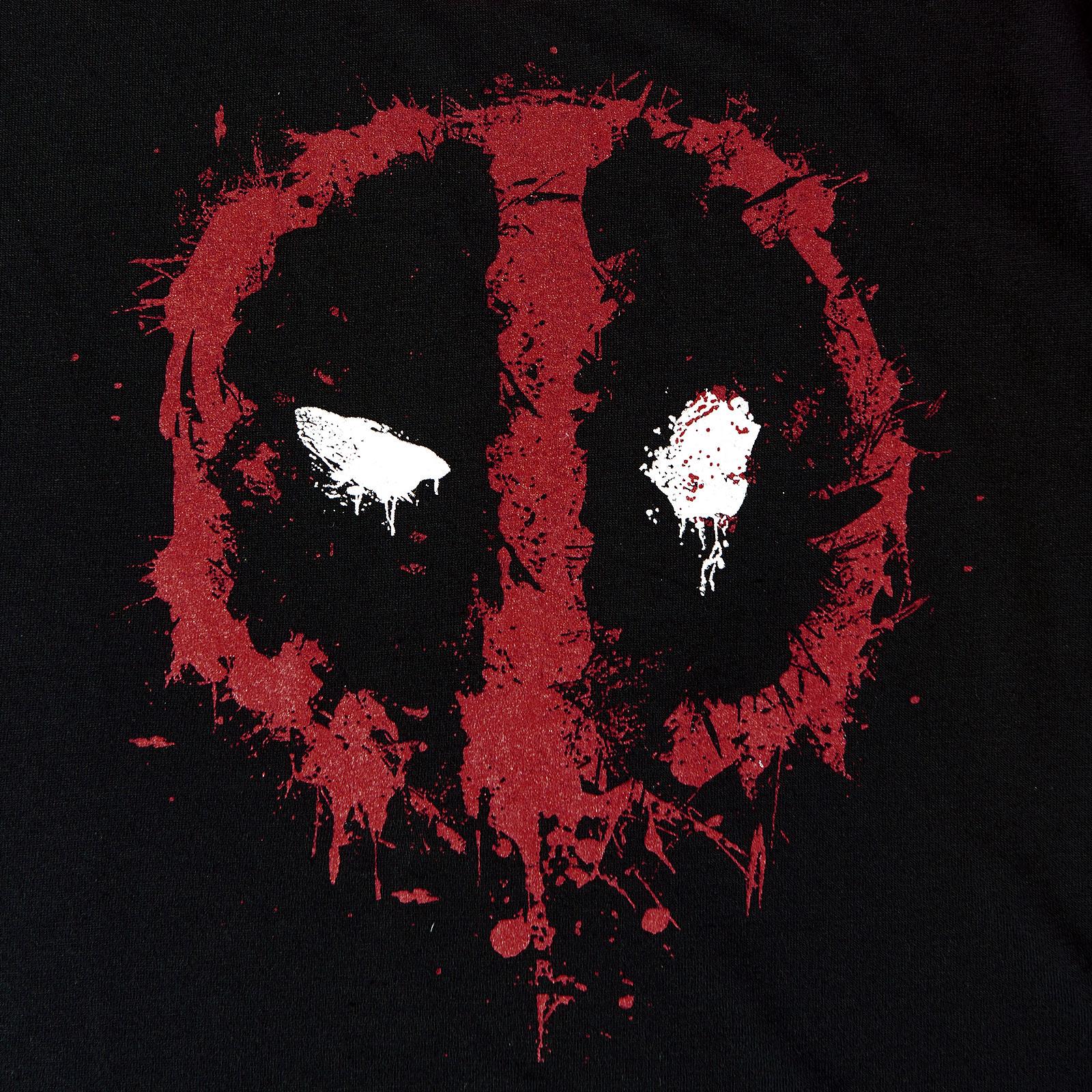 Deadpool - Destroy Face Longsleeve Damen