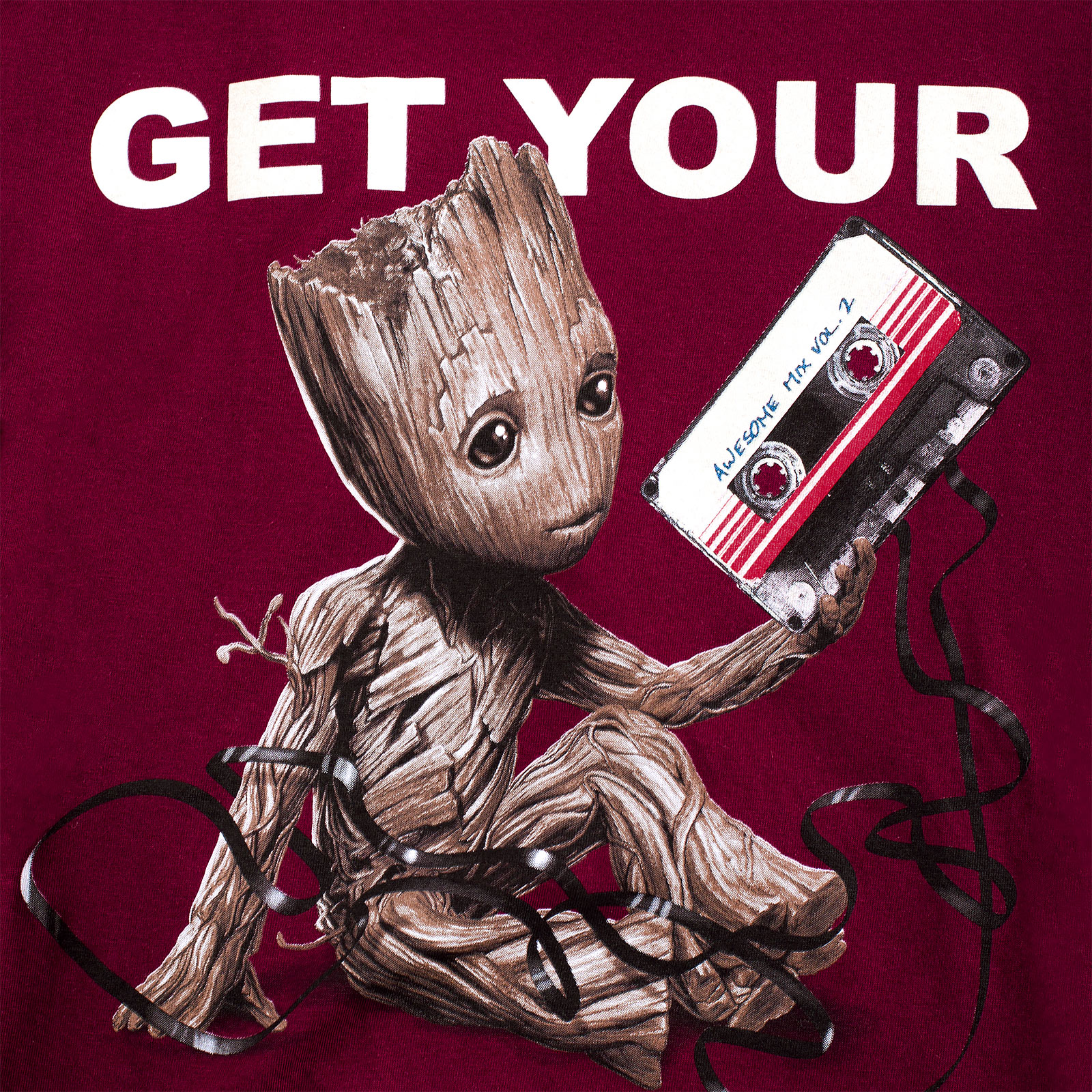 Guardians of the Galaxy - Groot T-Shirt rot