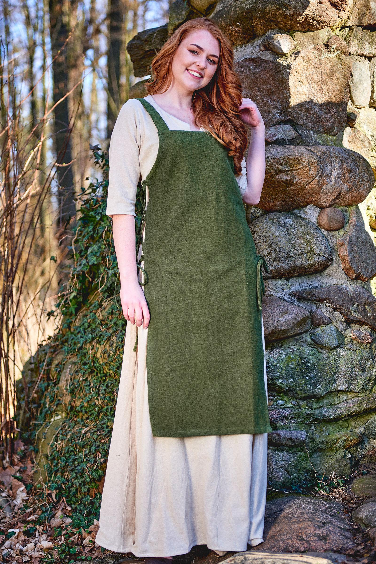 Mittelalter Überkleid Aleiga grün