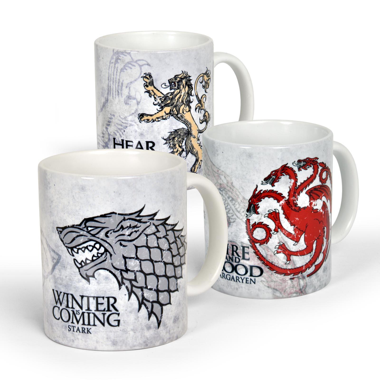 Game of Thrones Tassen-Set Angebot