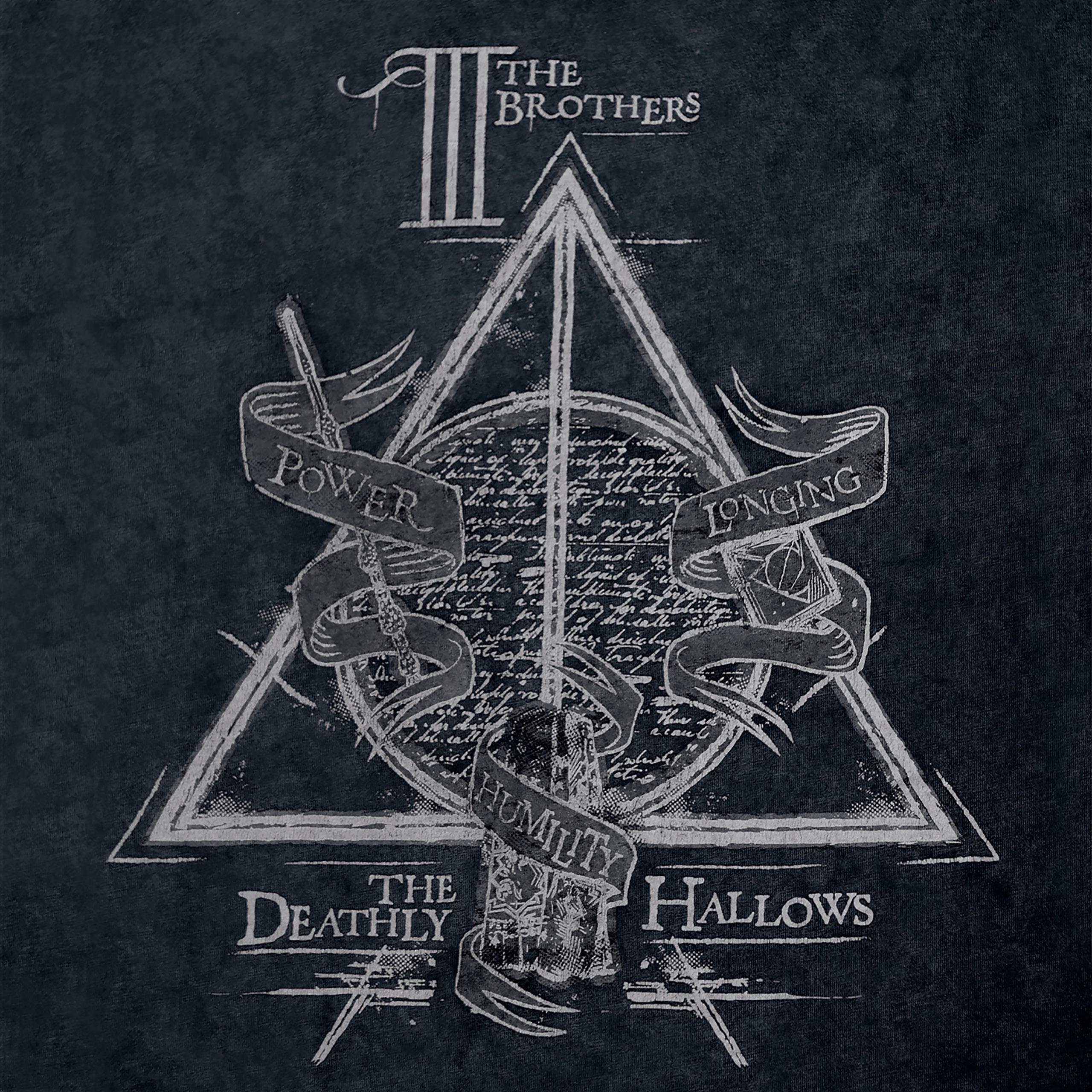 Harry Potter - Heiligtümer des Todes T-Shirt Damen grau