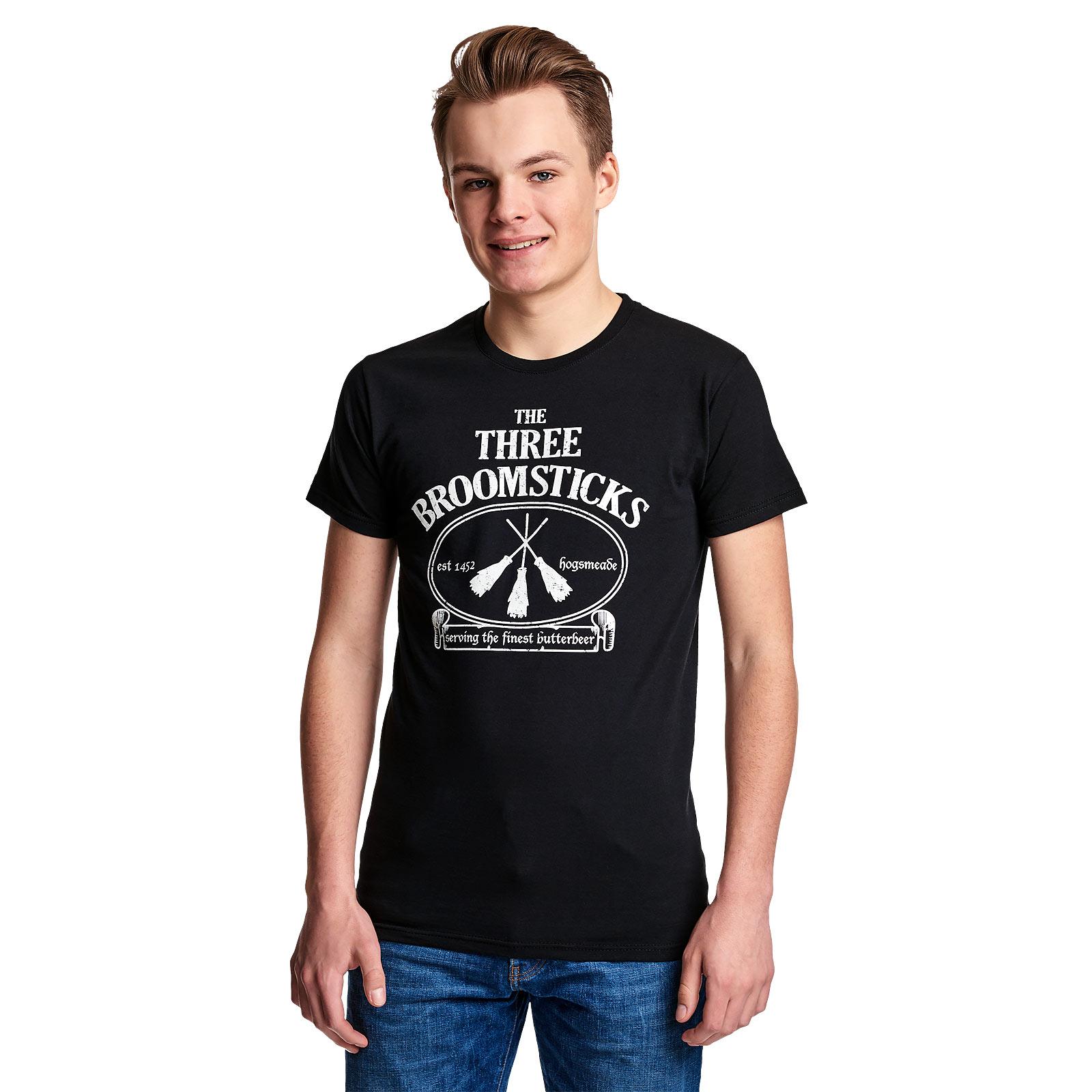 Three Broomsticks T-Shirt für Harry Potter Fans